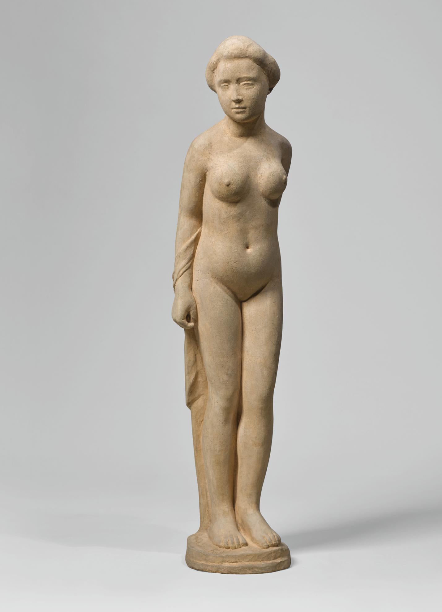 Aristide Maillol-Baigneuse Debout-1900