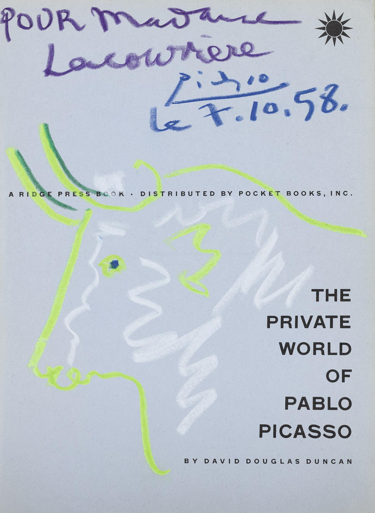 Pablo Picasso-Tete De Taureau-1958