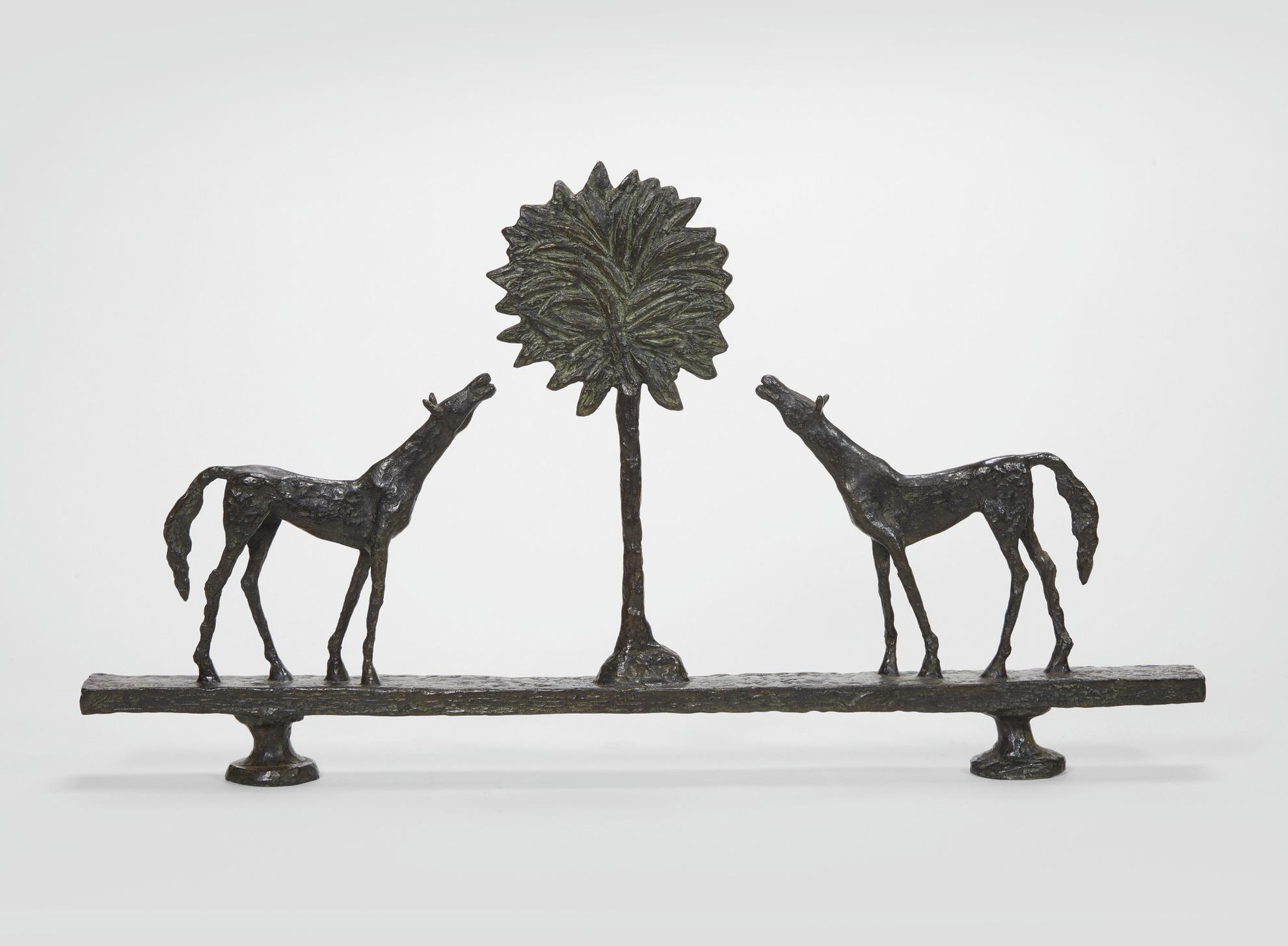 Diego Giacometti-La Promenade Des Amis-1976