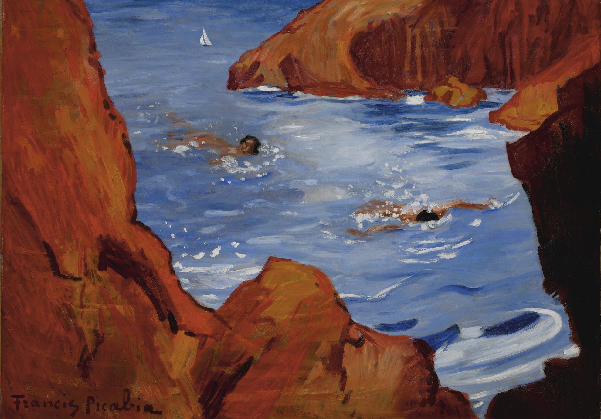 Francis Picabia-Les Calanques-1942