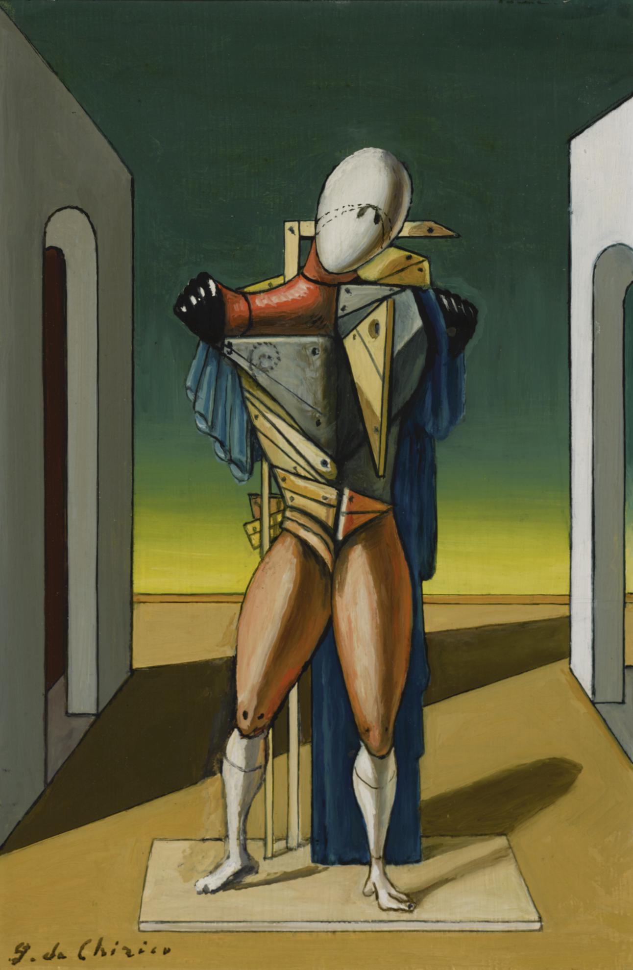 Giorgio de Chirico-Il Trovatore (The Troubadour)-1973