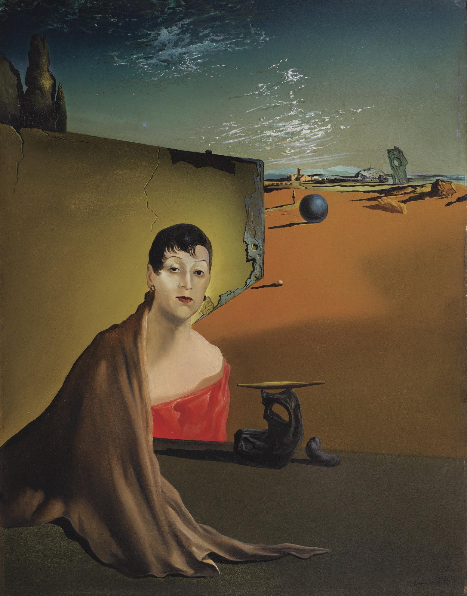 Salvador Dali-Portrait De Madame Ducas-1935