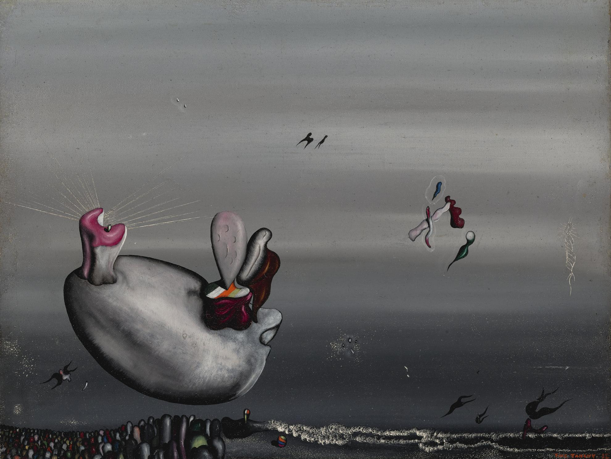 Yves Tanguy-Roux En Hiver-1932