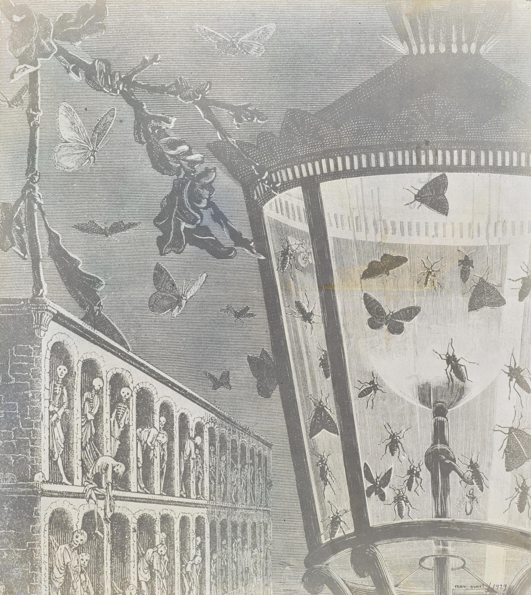 Max Ernst-Le Fantome De La Repopulation-1929