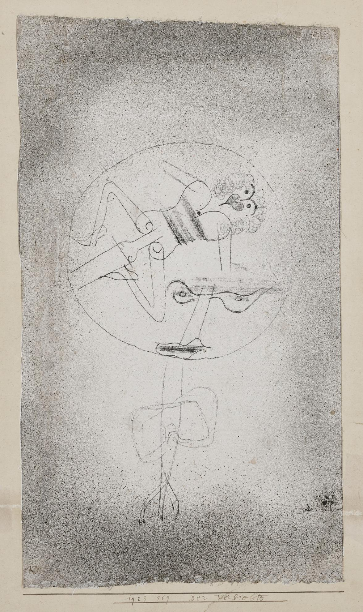 Paul Klee-Der Verliebte (The Man In Love)-1923
