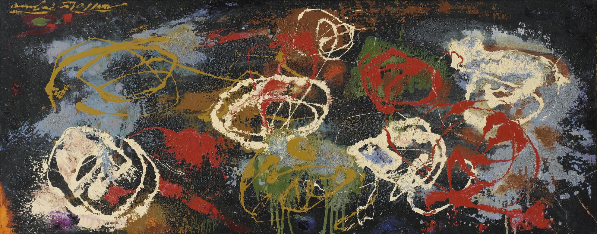 Andre Masson-Vestiges Dun Massacre-1958