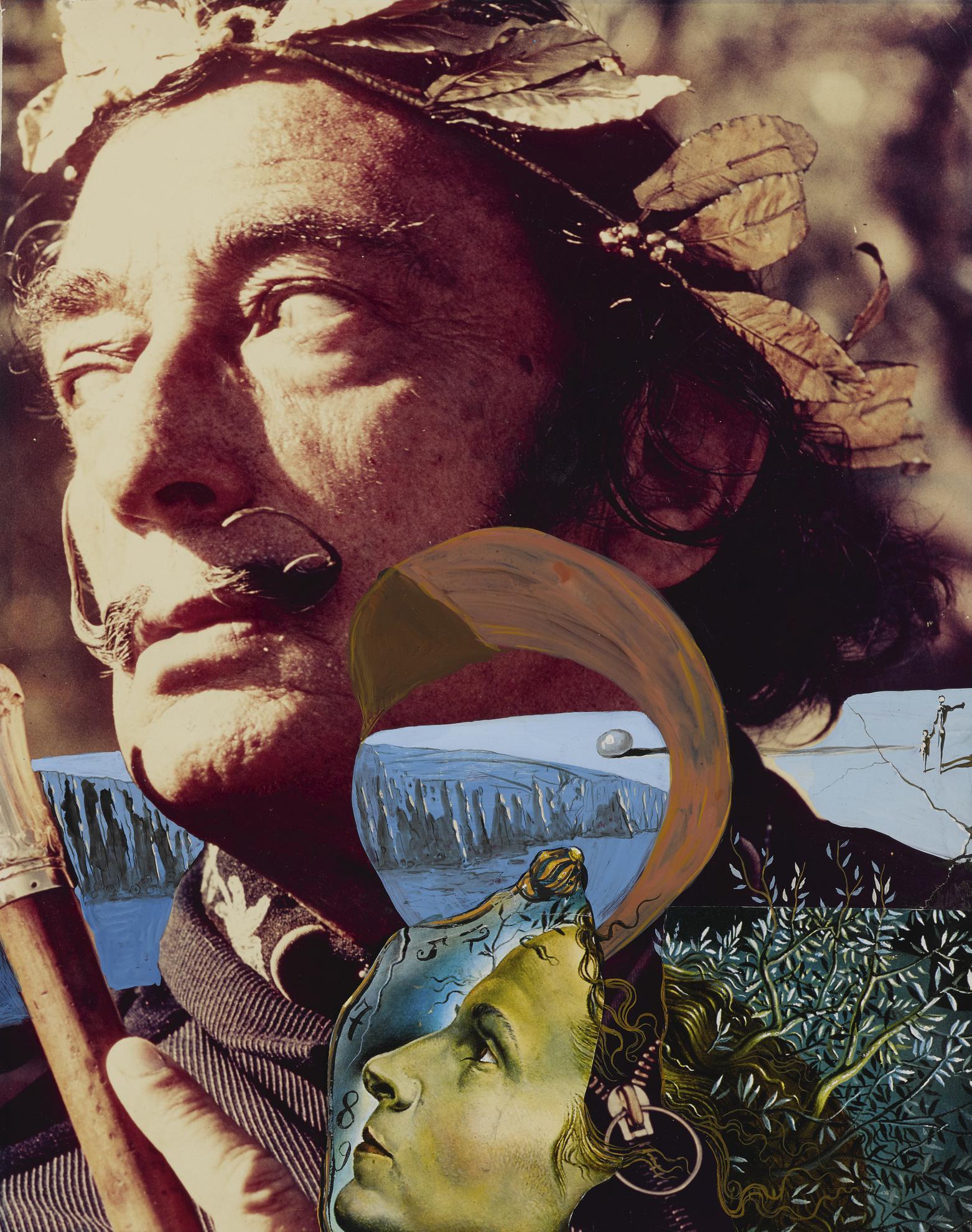 Salvador Dali-Dali Couronne-1968