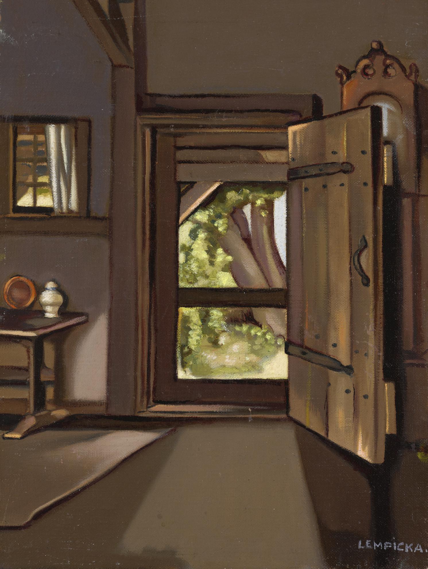 Tamara de Lempicka-La Porte De Latelier-1941