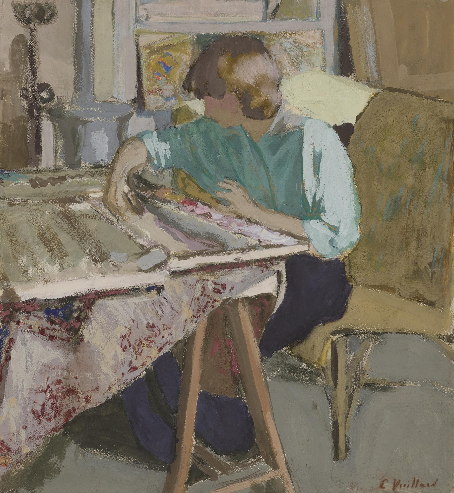 Edouard Vuillard-Dans Latelier-1916