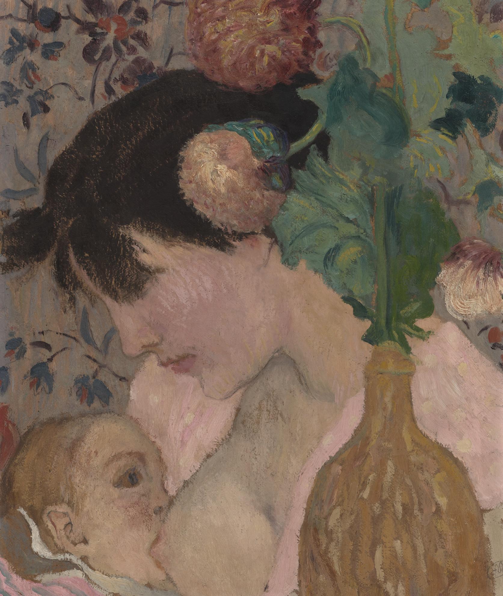 Aristide Maillol-Mere Et Enfant-1895