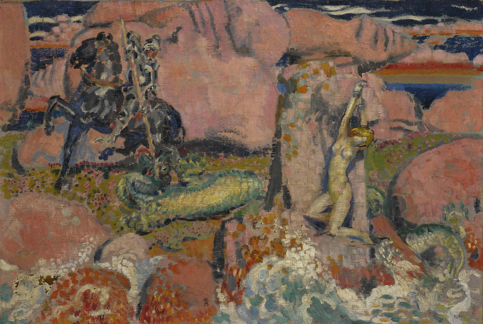 Maurice Denis-Roger Et Angelique-1907