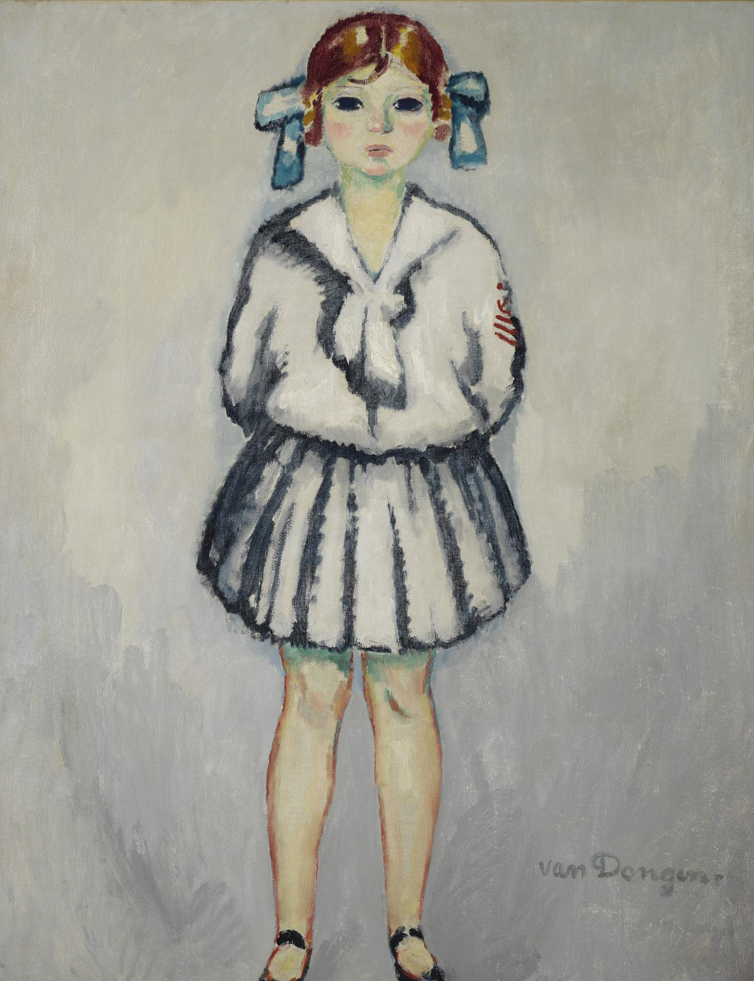 Kees van Dongen-Dolly En Costume Marin-1914