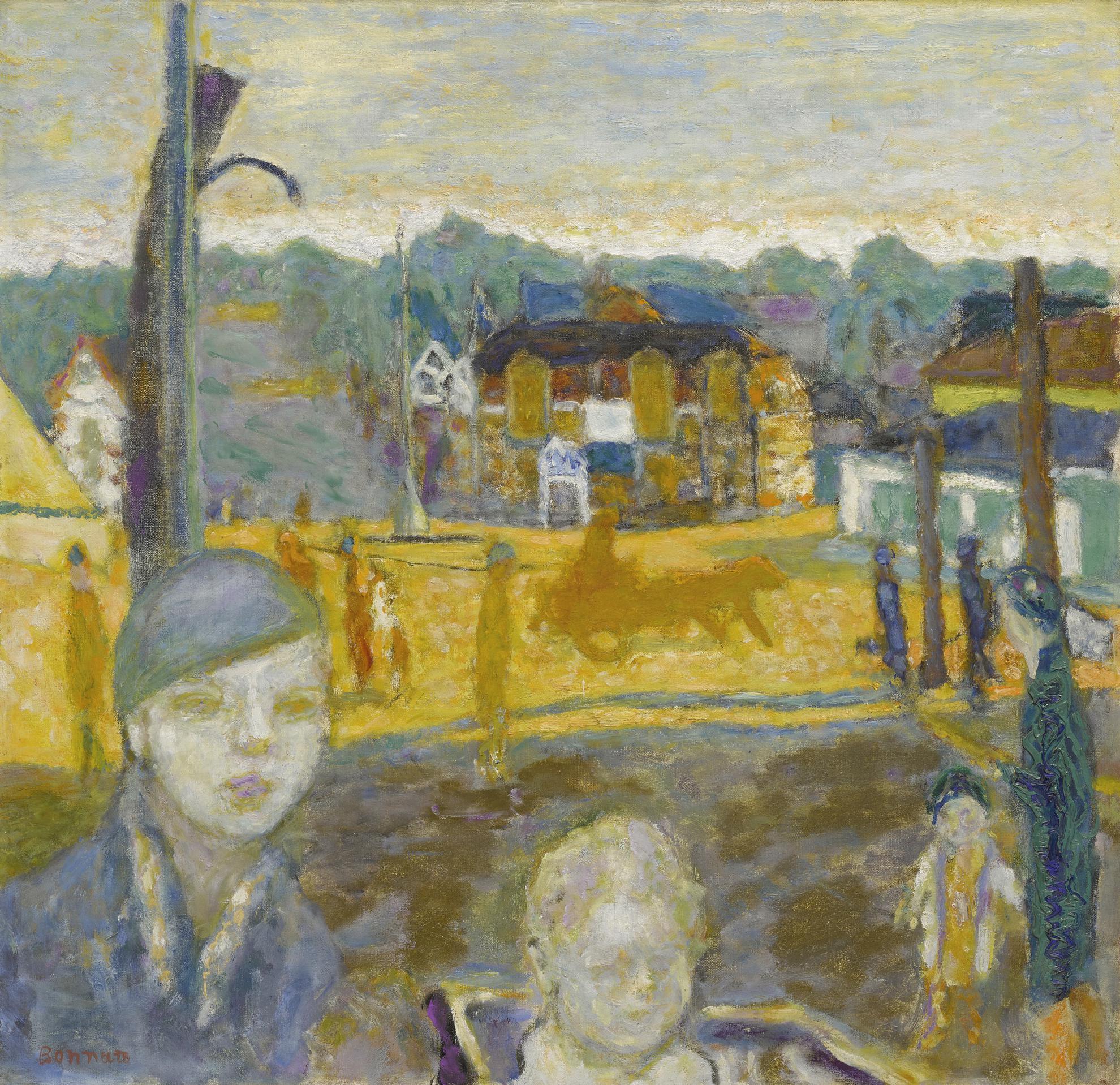 Pierre Bonnard-La Promenade Des Enfants (Arcachon)-1929