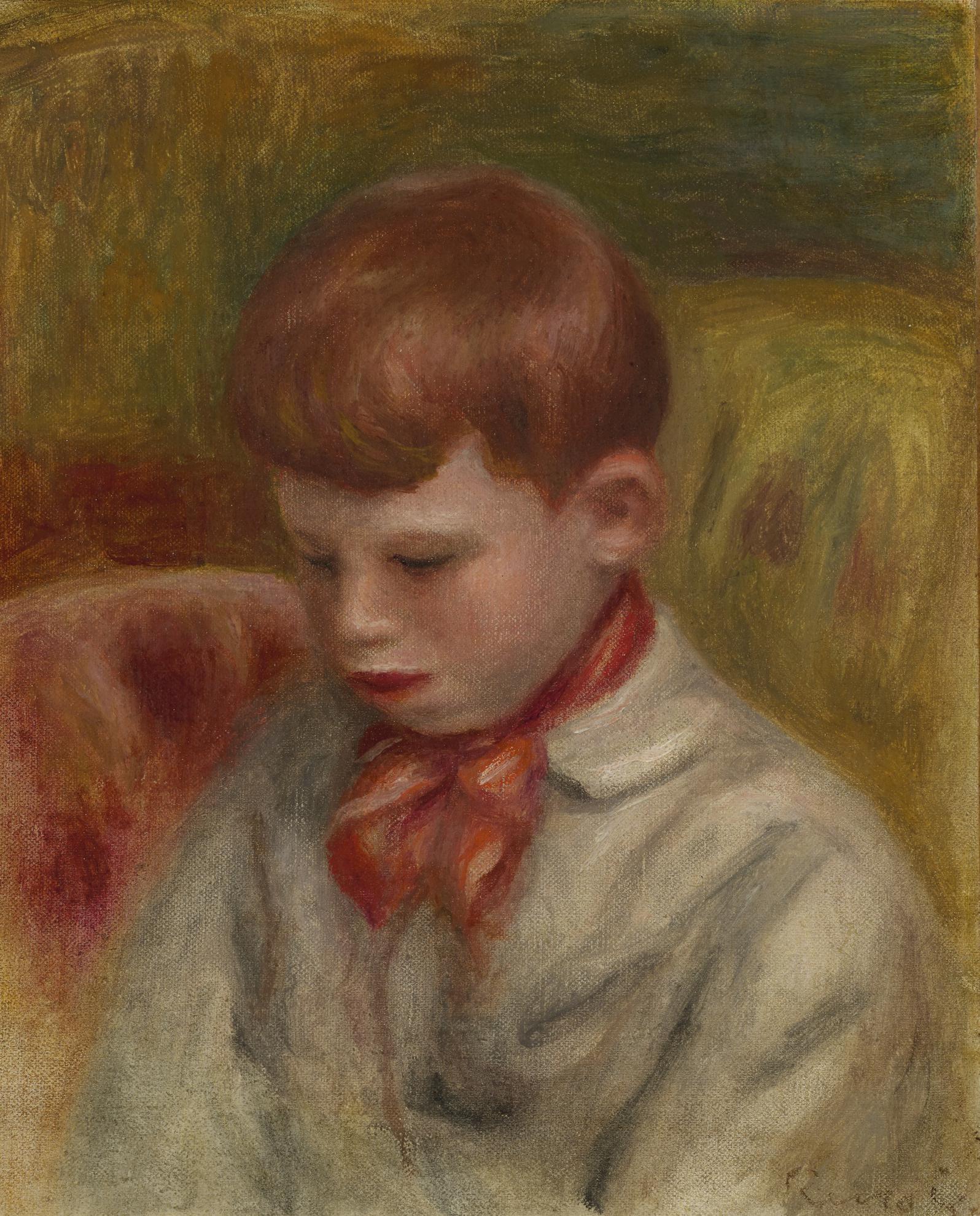 Pierre-Auguste Renoir-Portrait De Jean Renoir-1910