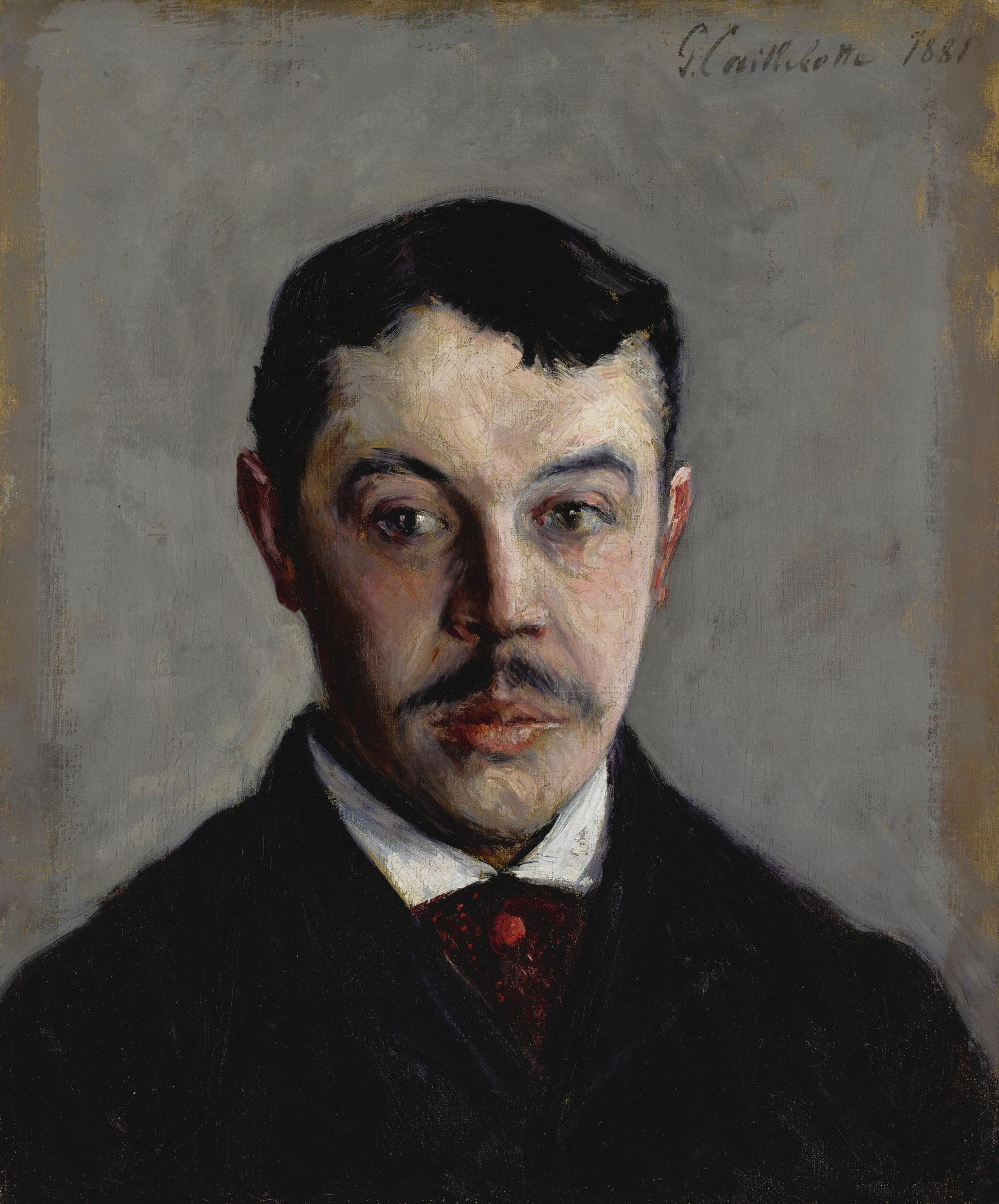 Gustave Caillebotte-Portrait Dhomme-1881