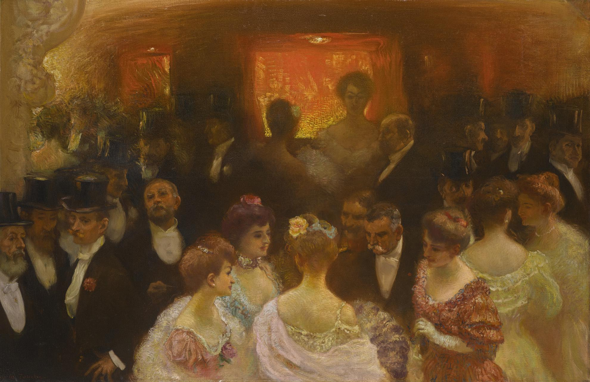 Gaston La Touche - Lentracte-