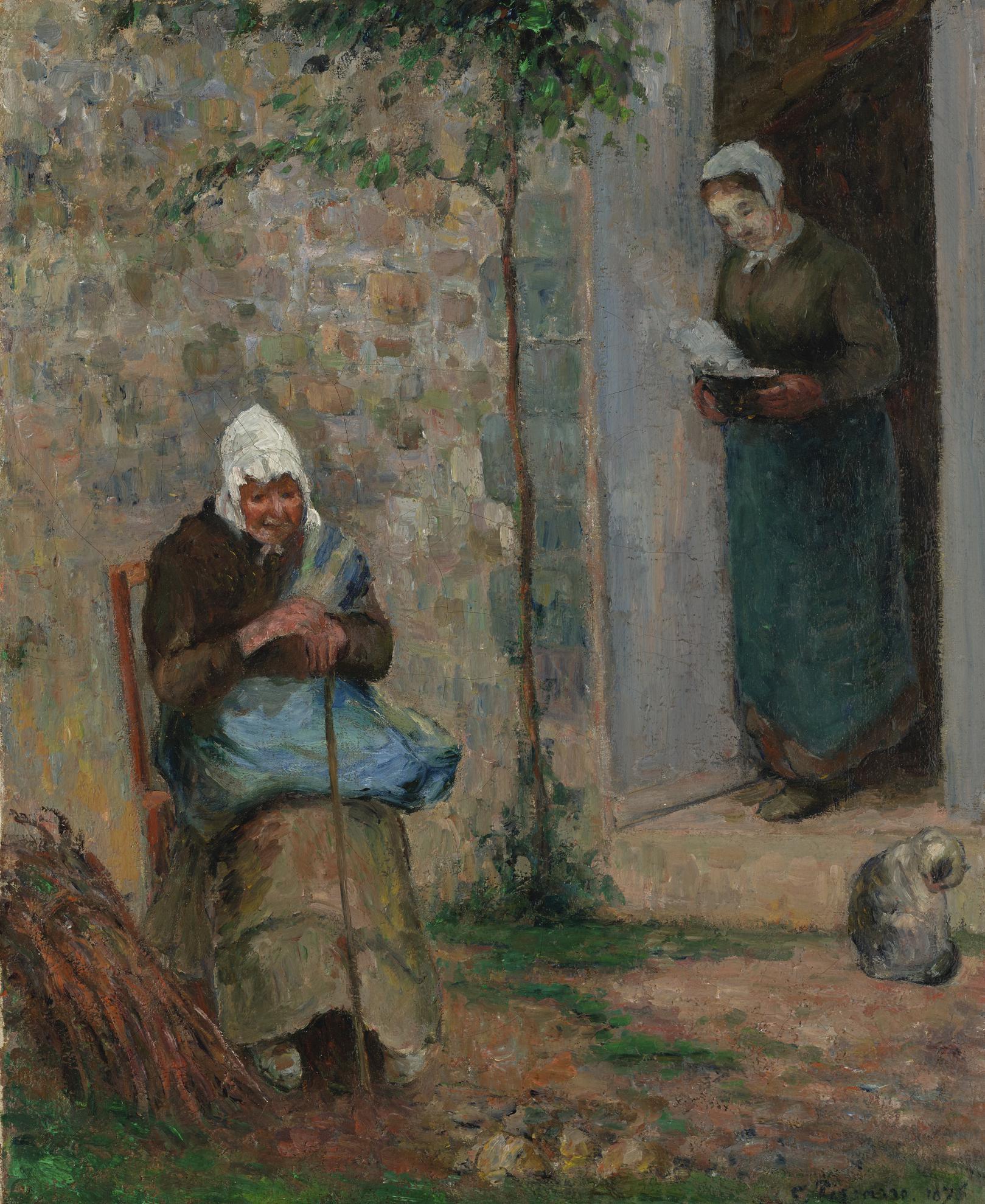 Camille Pissarro-La Charite-1876