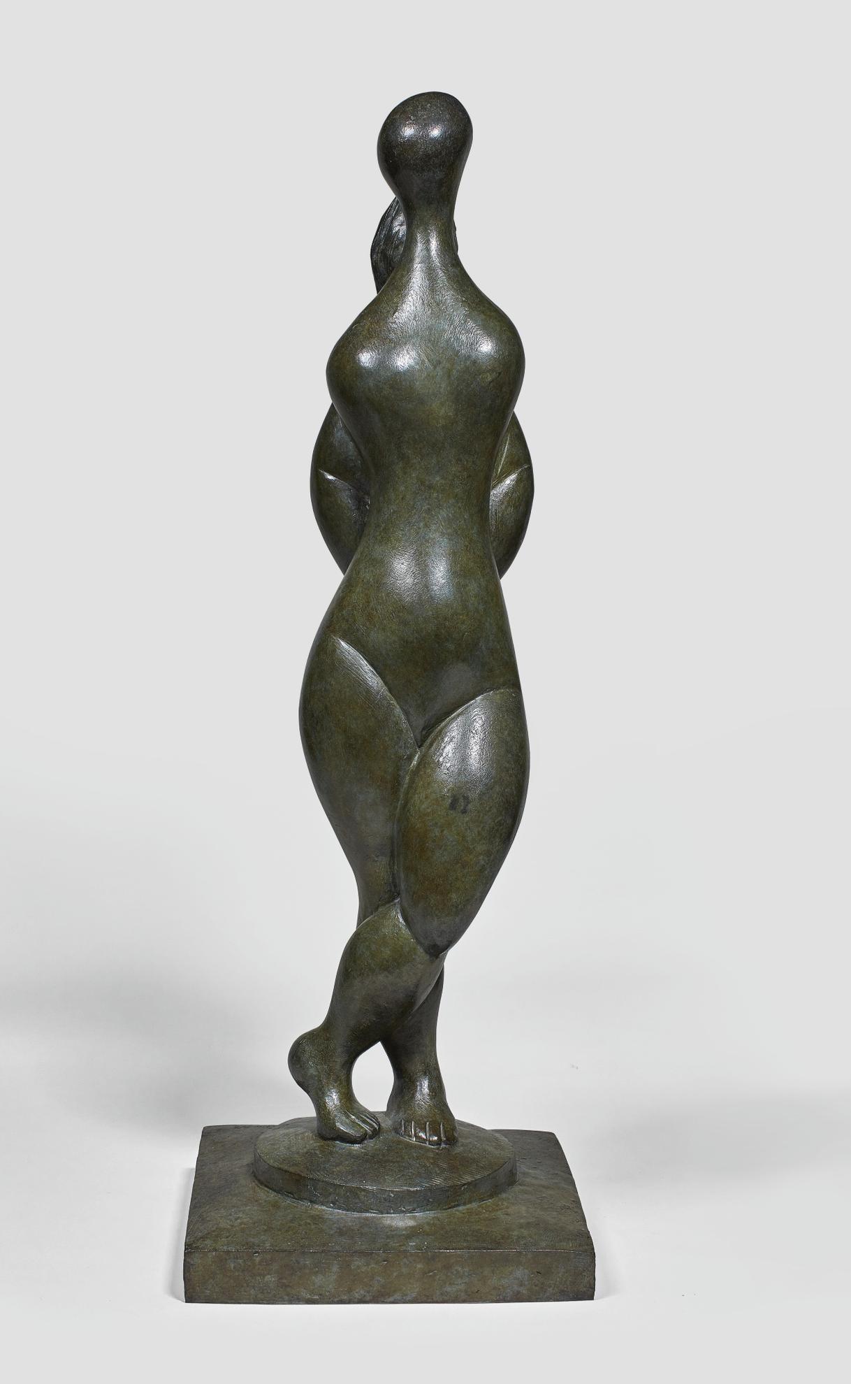 Baltasar Lobo-Femme Debout, Mains Au Dos-1970