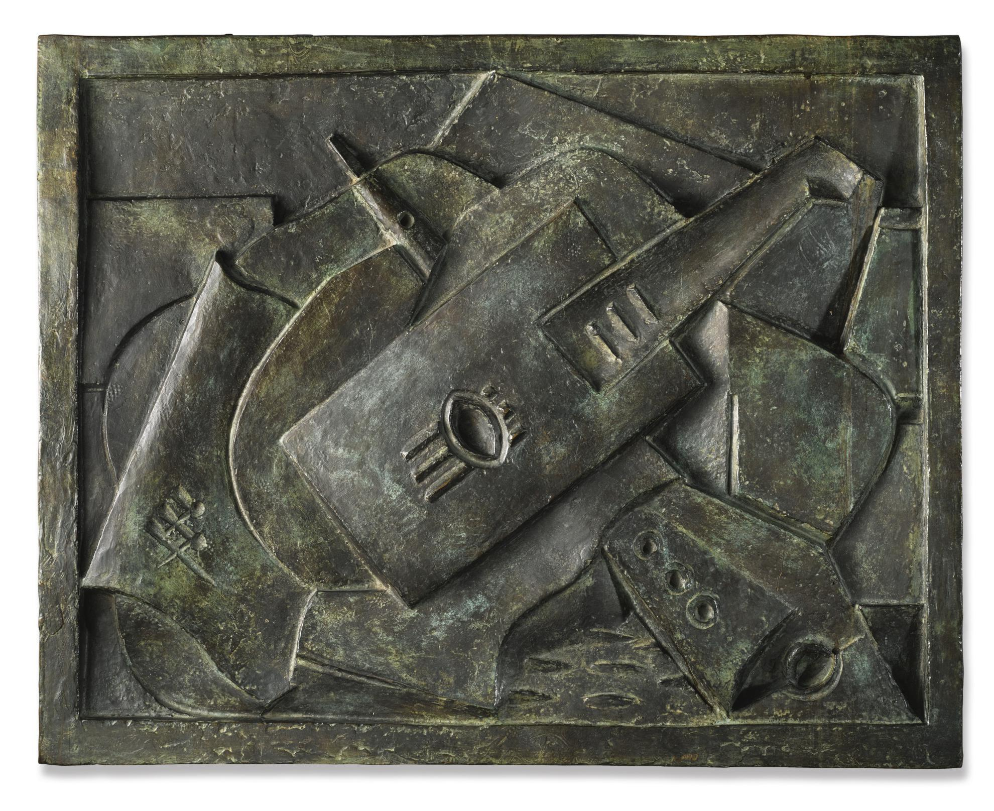 Jacques Lipchitz-Still Life-1918