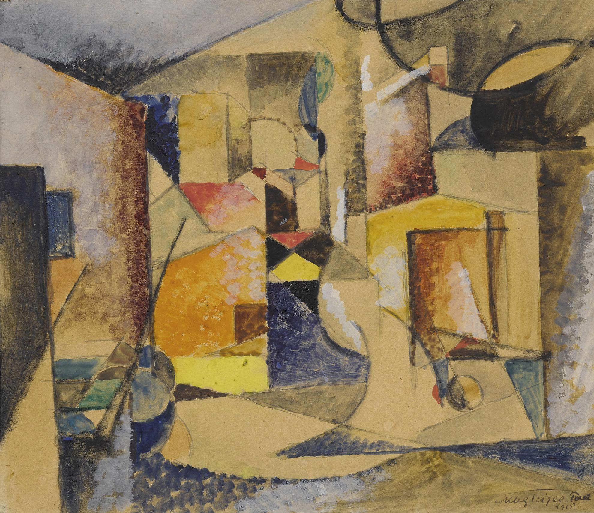 Albert Gleizes-Composition Abstraite-1915