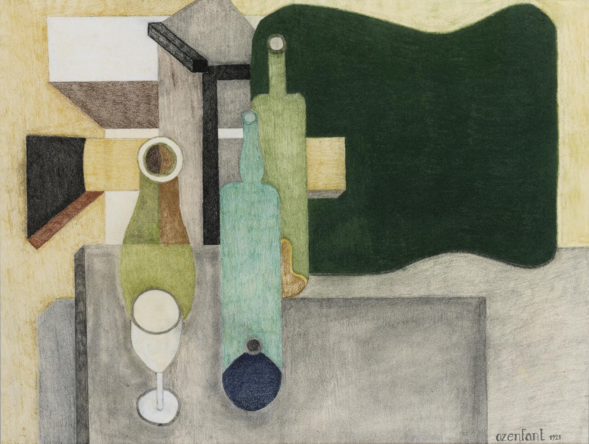Amedee Ozenfant-Nature Morte Puriste-1921