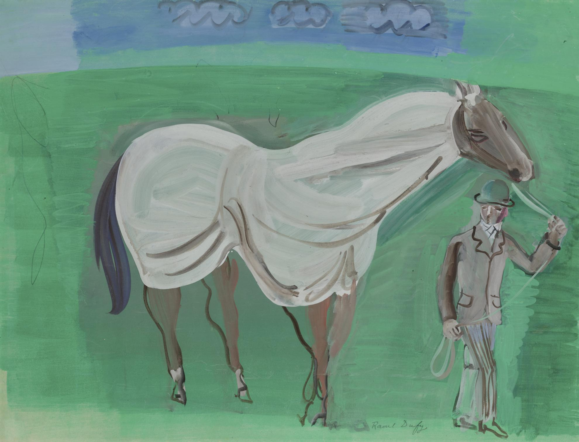 Raoul Dufy-Le Favori-1925
