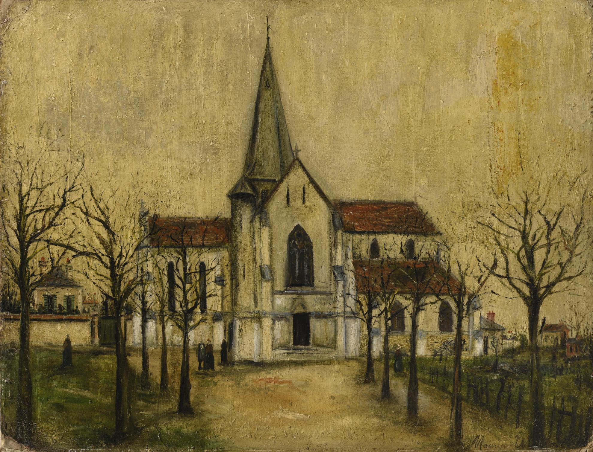 Maurice Utrillo-Leglise-1916