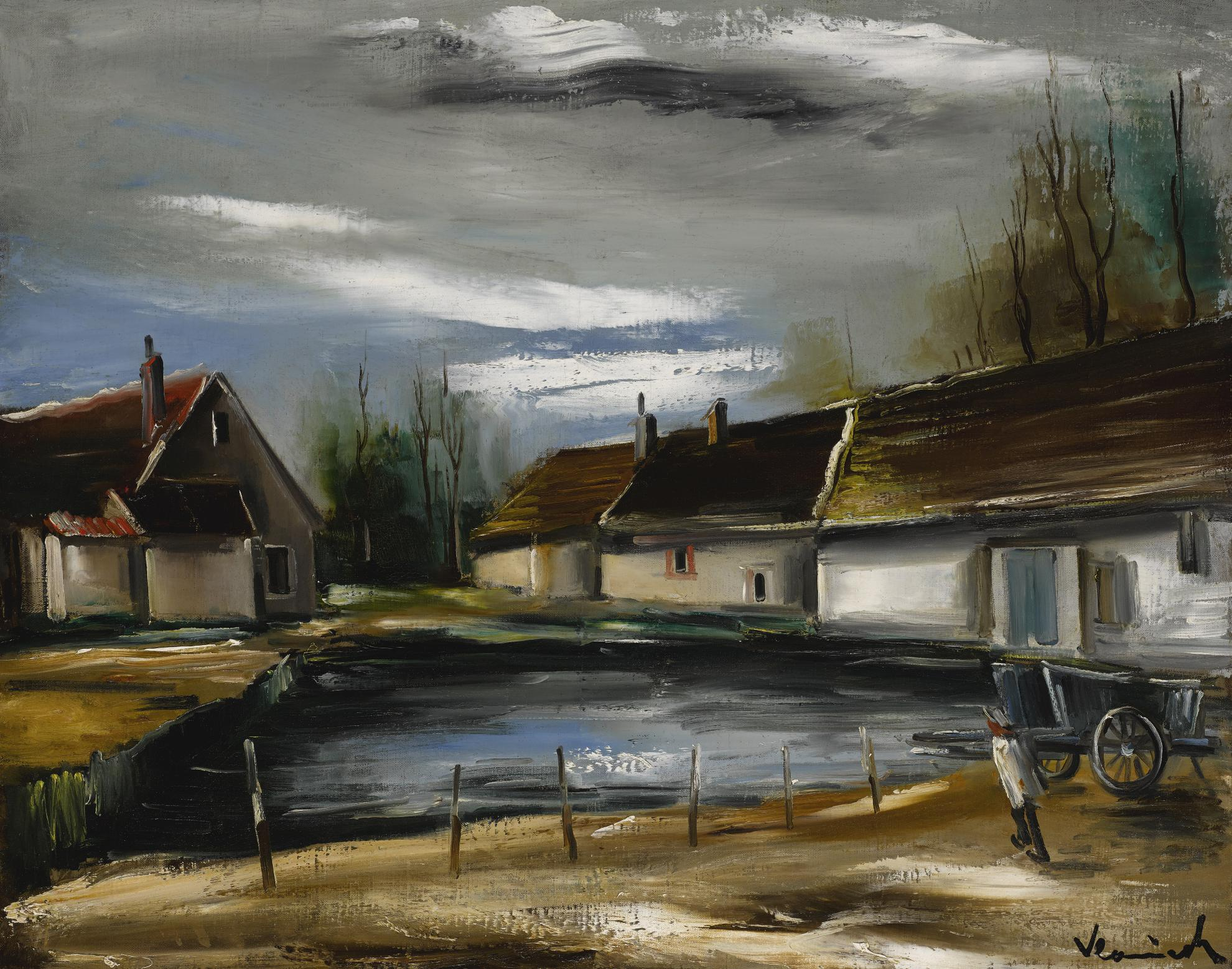 Maurice de Vlaminck-Letang-1925