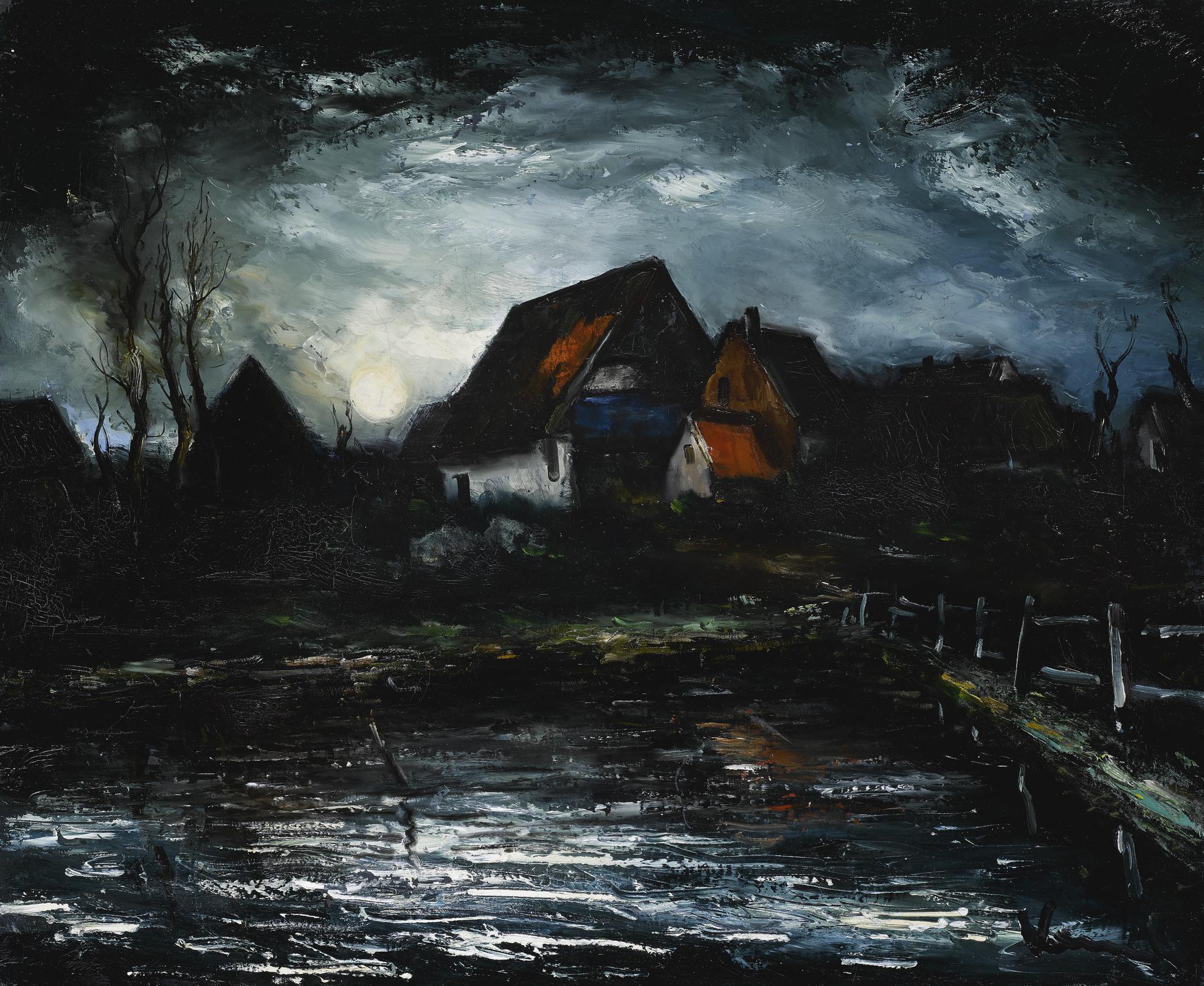 Maurice de Vlaminck-La Ferme-1929