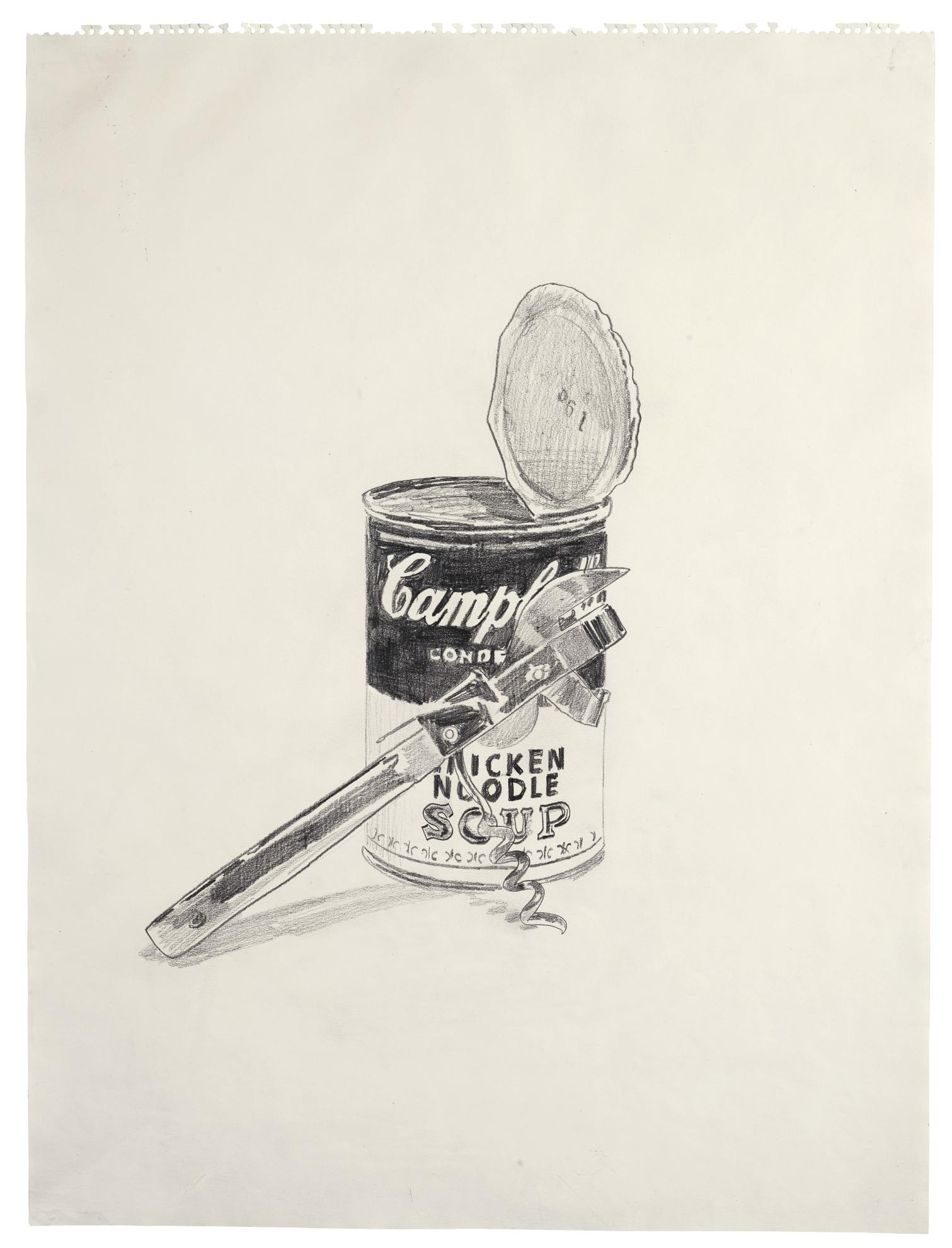 Andy Warhol-Campbells Soup Can And Can Opener-1962