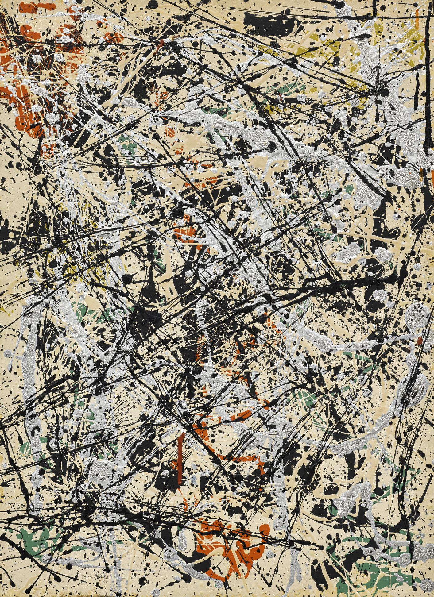 Jackson Pollock-Number 32, 1949-1949