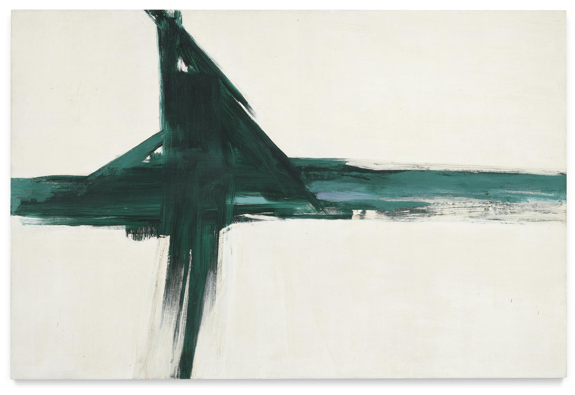 Franz Kline-Green Cross-1956