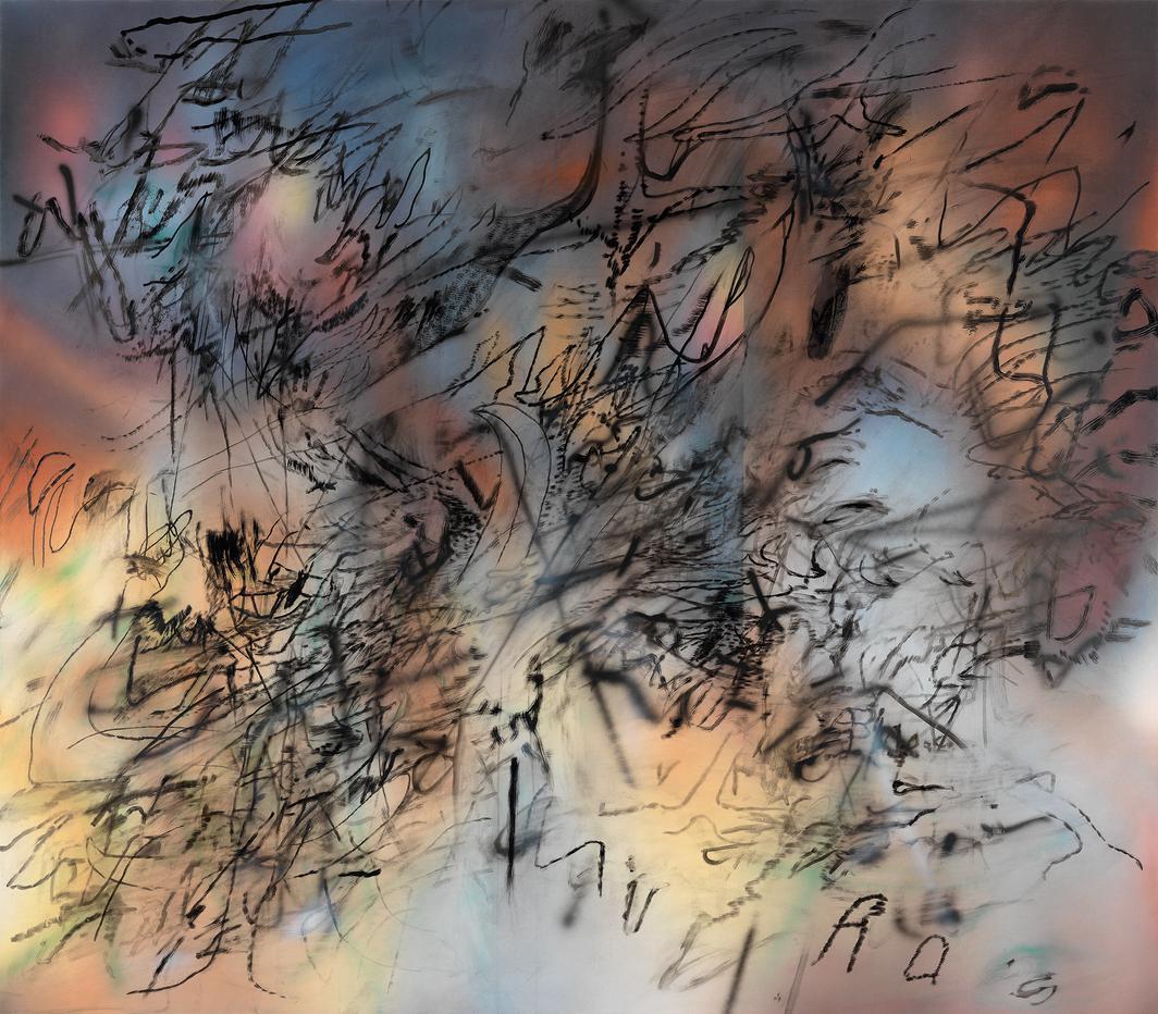Julie Mehretu-Conjured Parts (Dresden)-2017