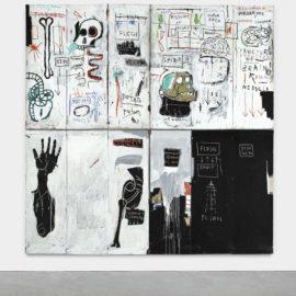 Jean-Michel Basquiat-Flesh And Spirit-1983