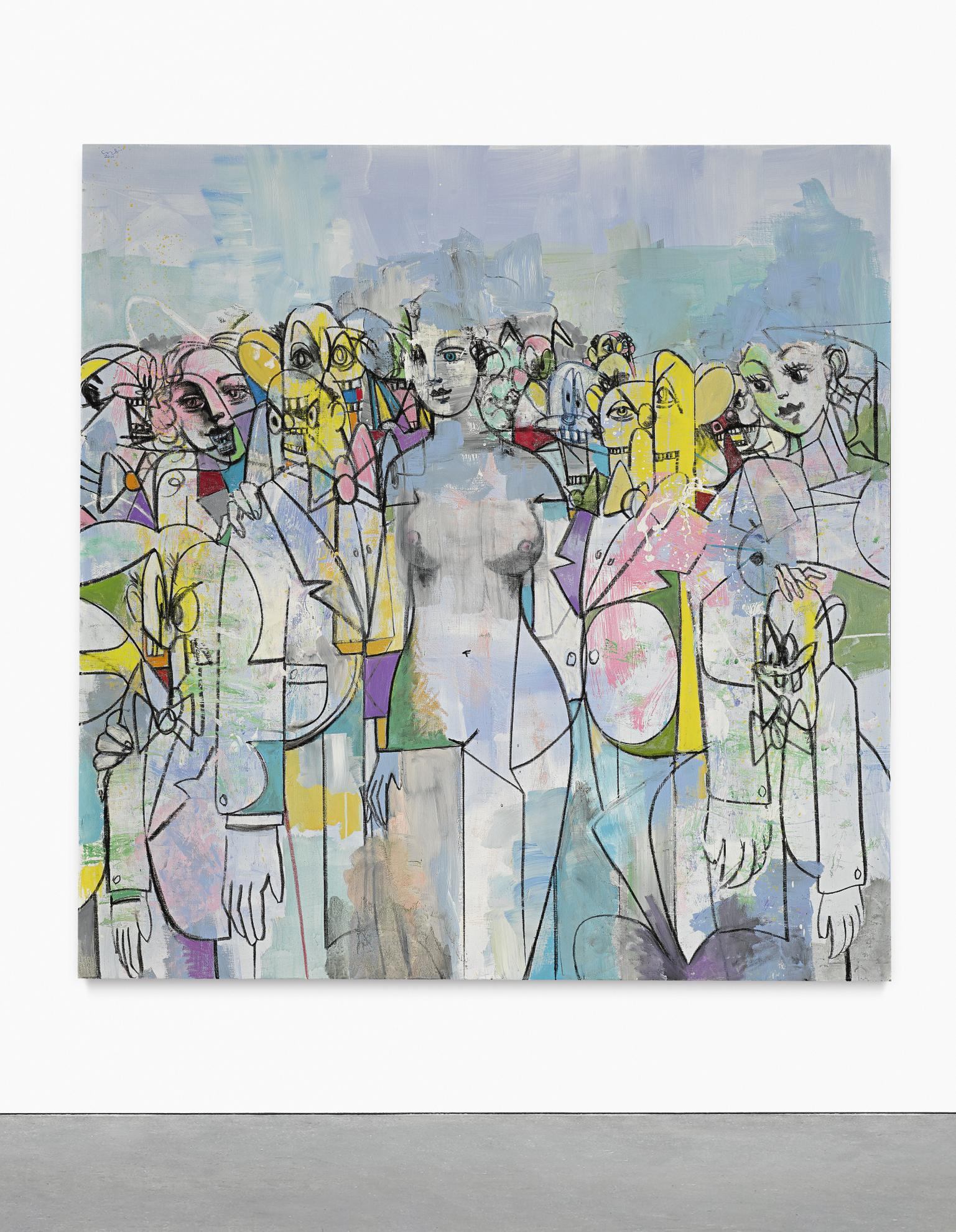 George Condo-Day Of The Idol-2011