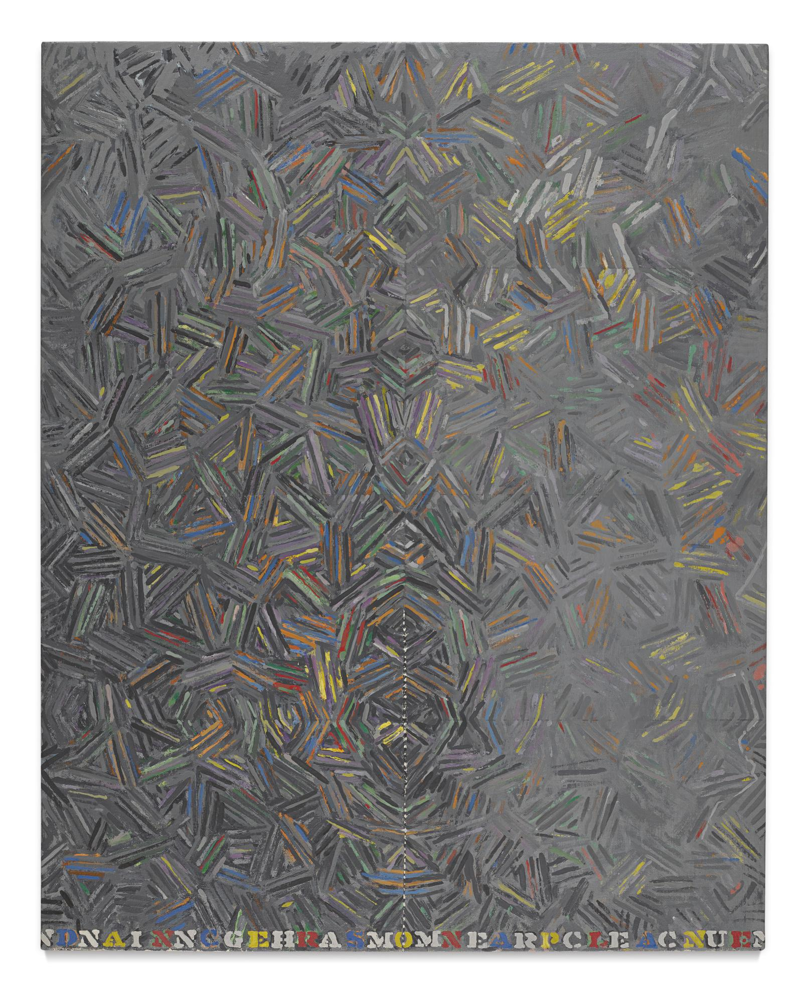 Jasper Johns-Dancers On A Plane-1981