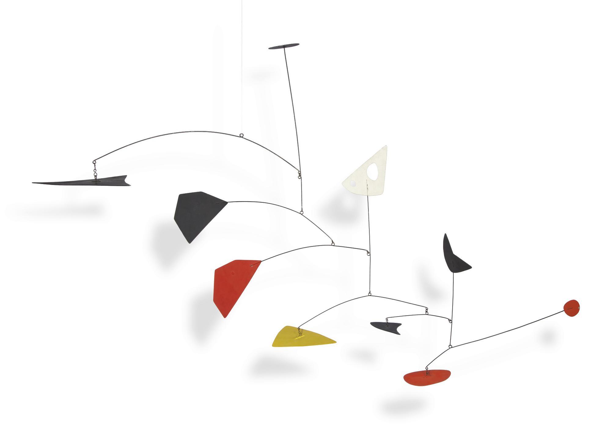Alexander Calder-Various Shapes, Colors, Planes-1951