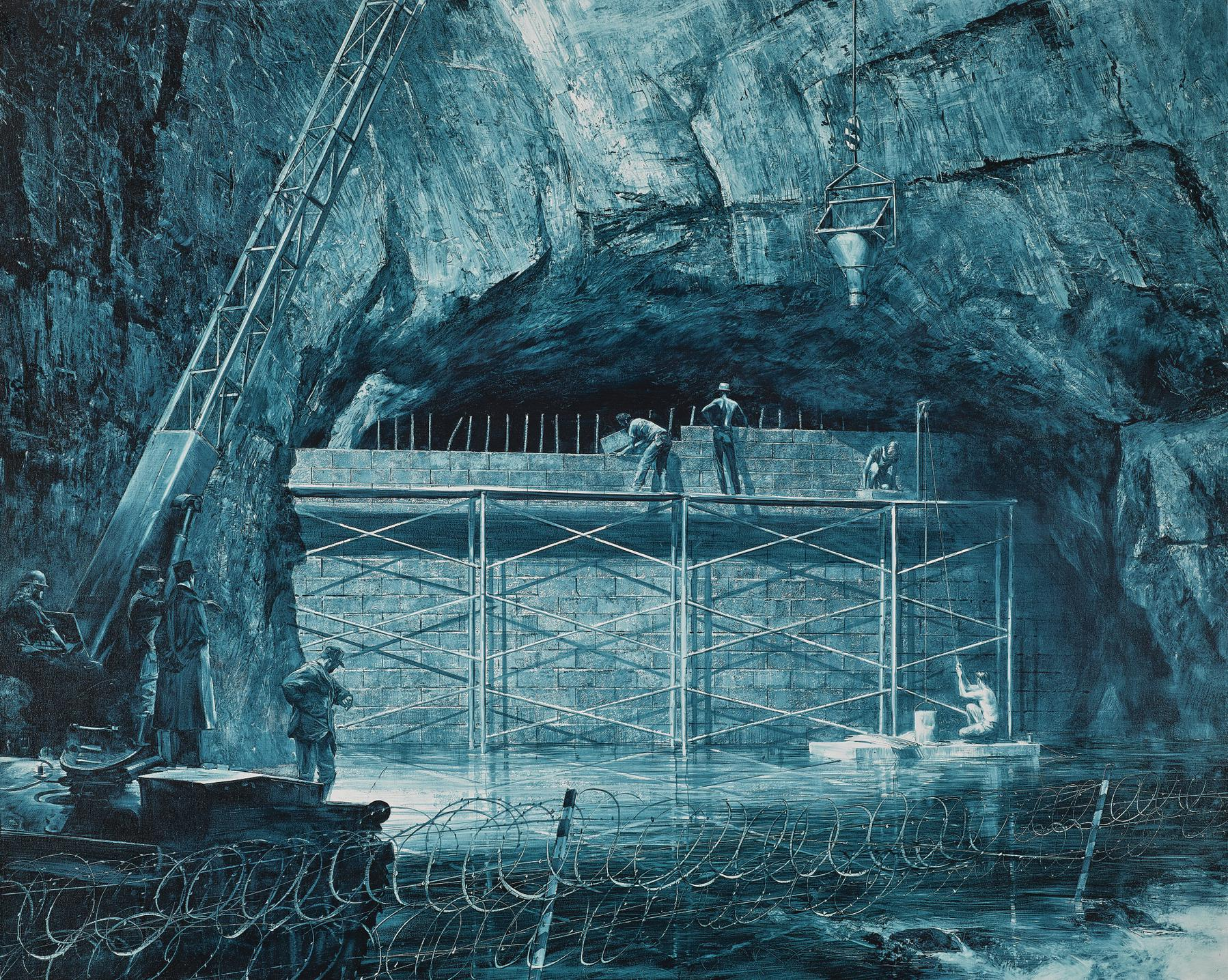 Mark Tansey-Source Of The Loue-1988