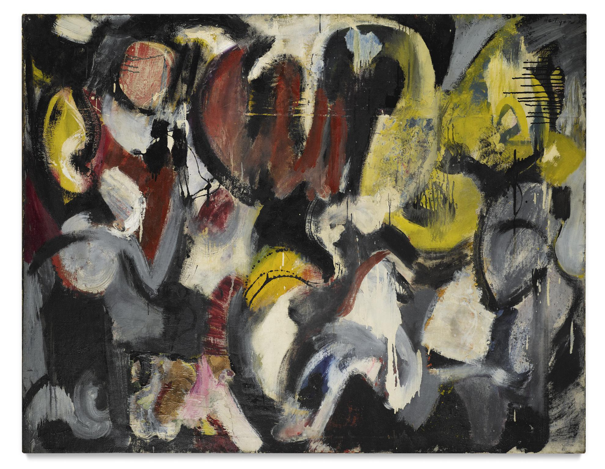 Grace Hartigan-Months And Moons-1950