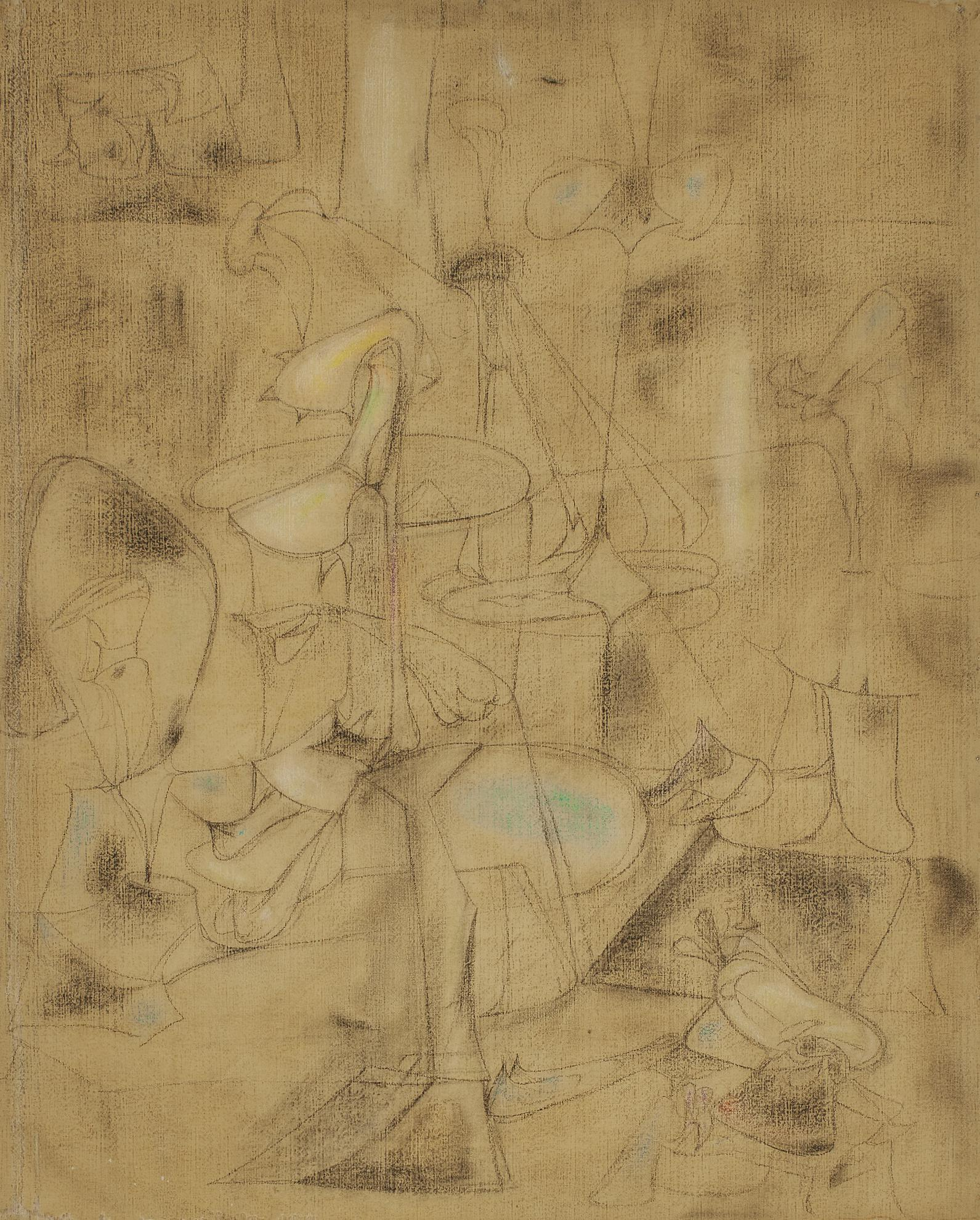 Arshile Gorky-Study For The Betrothal-1947