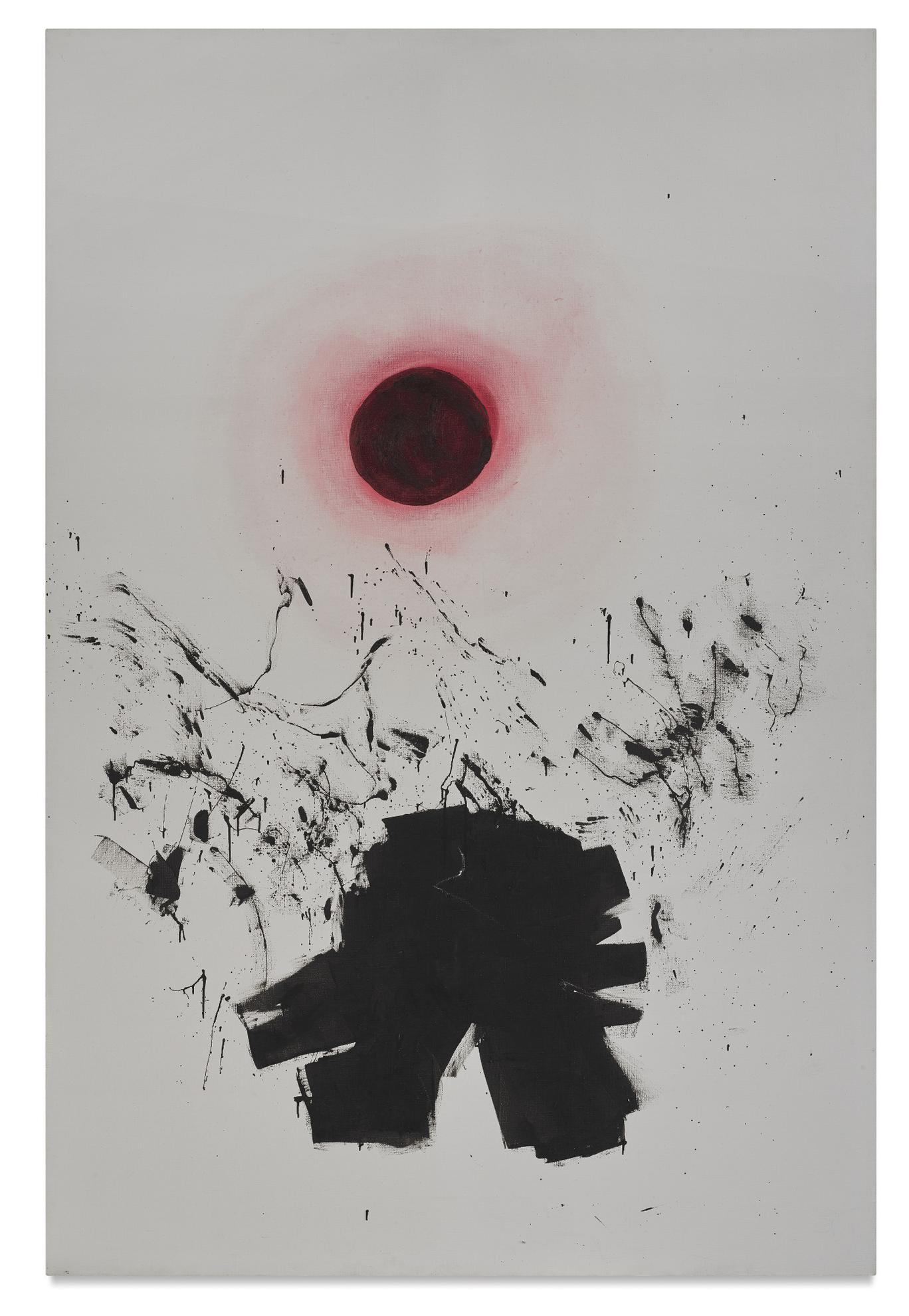Adolph Gottlieb-Burst II-1972