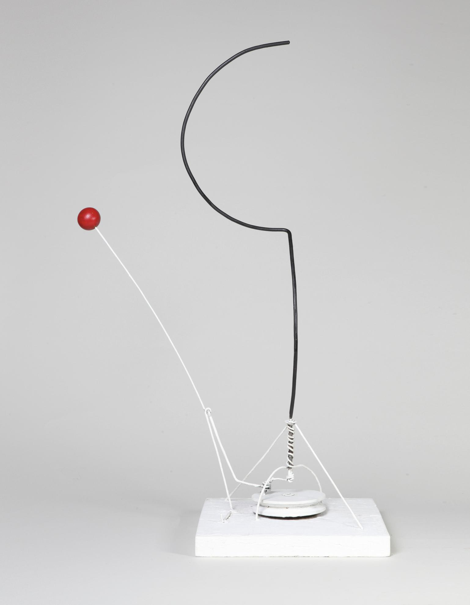 Alexander Calder-Double Arc And Sphere-1932