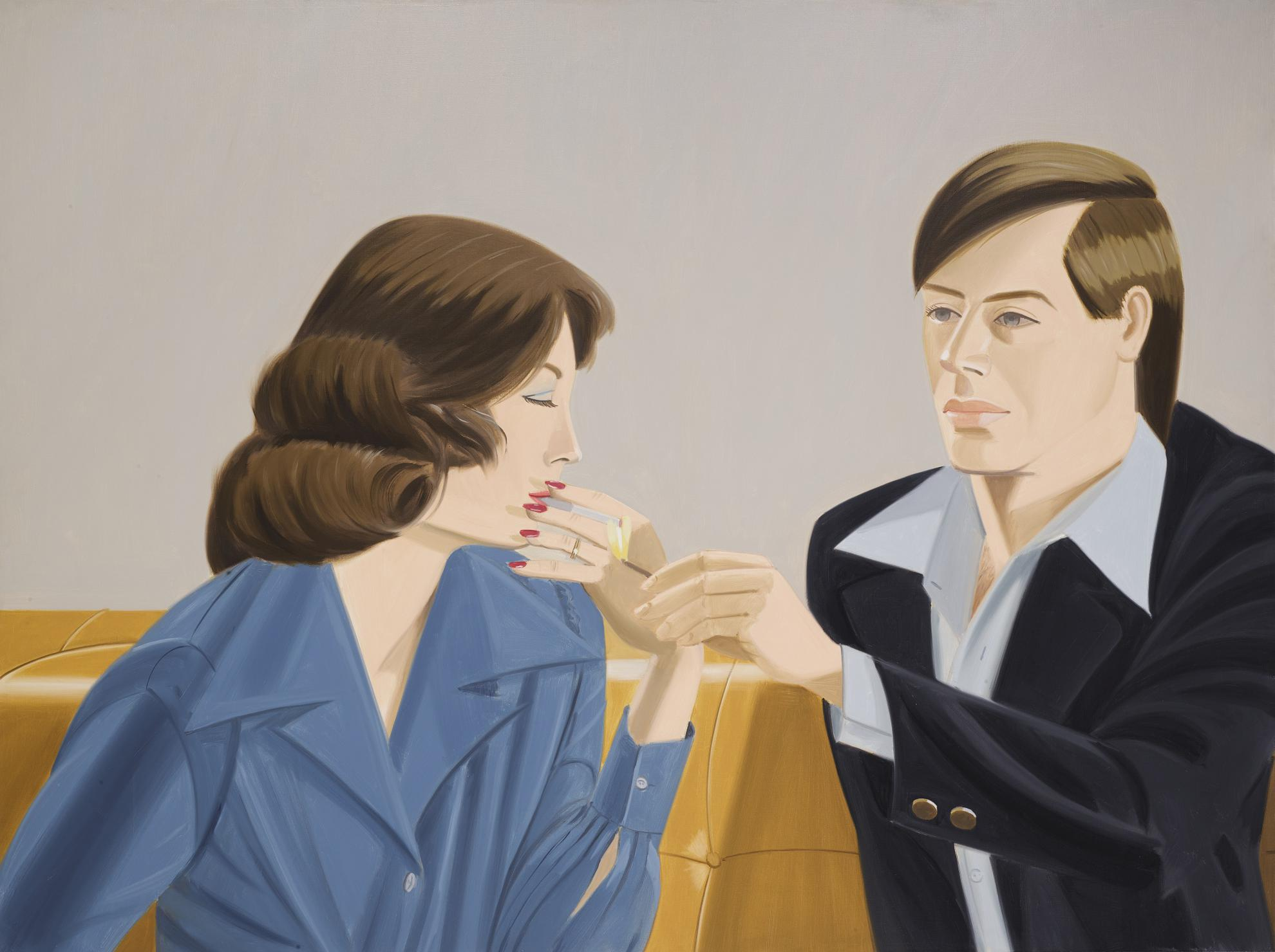 Alex Katz-The Light I-1975
