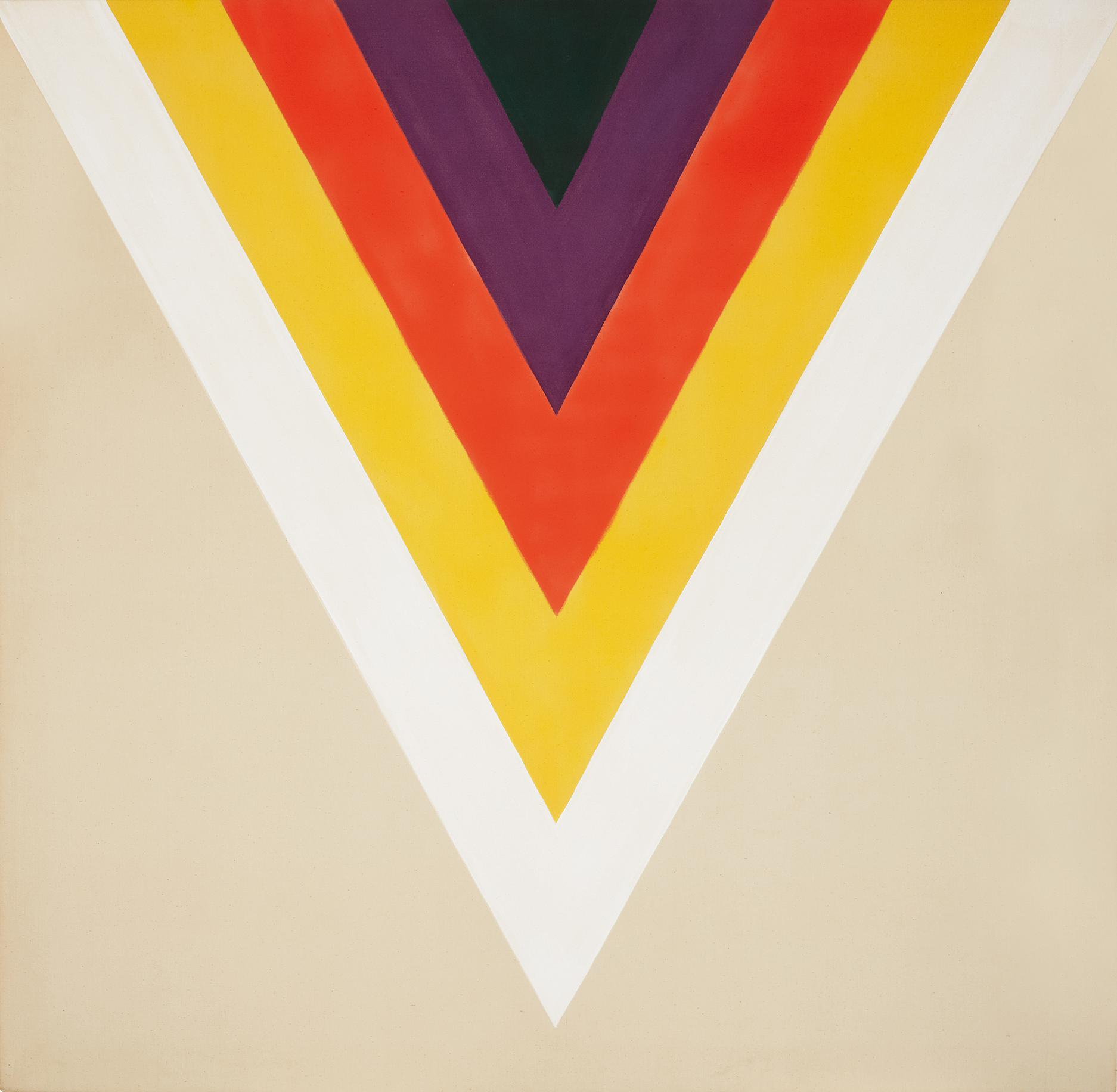 Kenneth Noland-Baba Yagga-1964