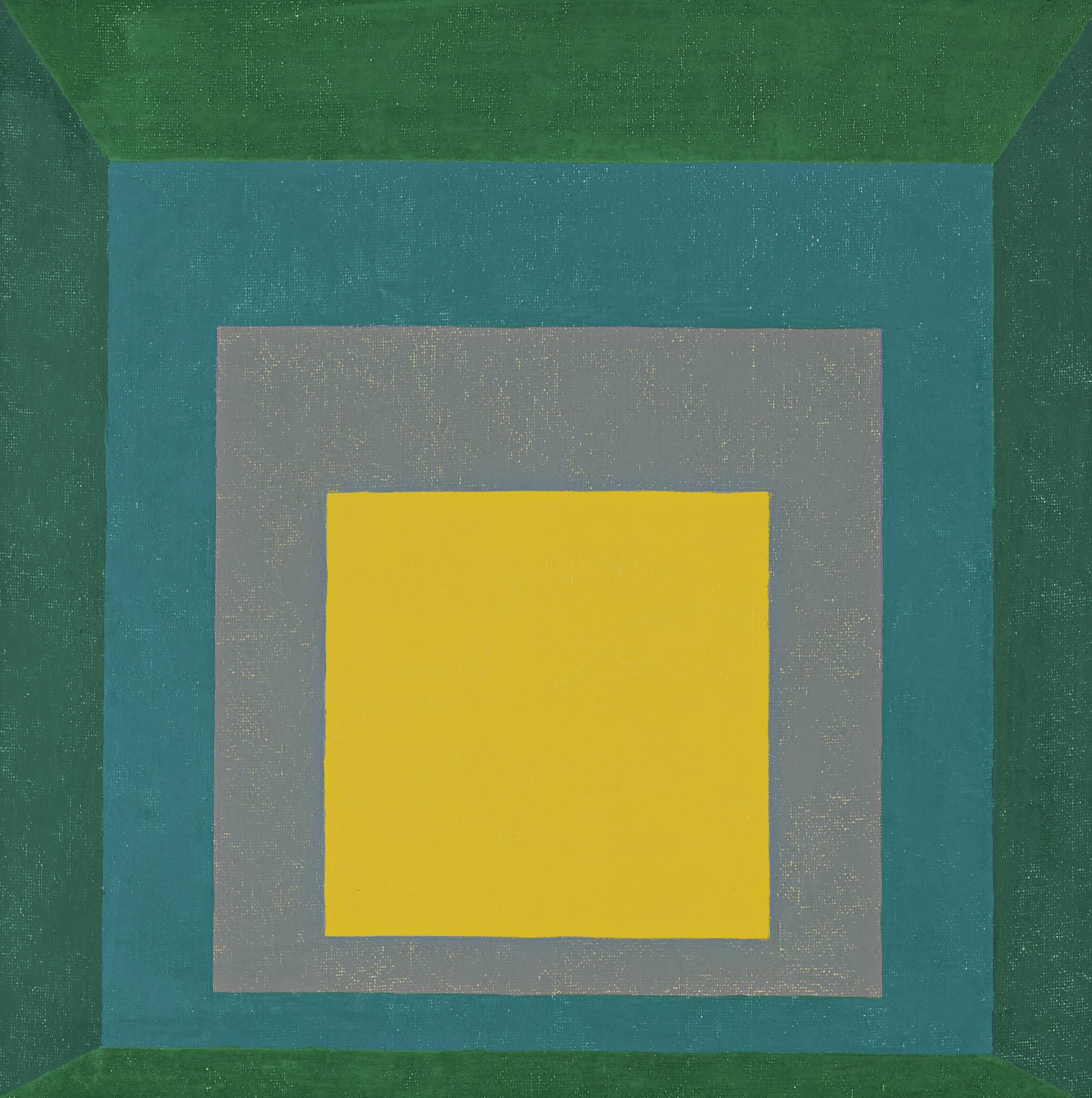 Josef Albers-Study For Homage To The Square: Apparition-1959