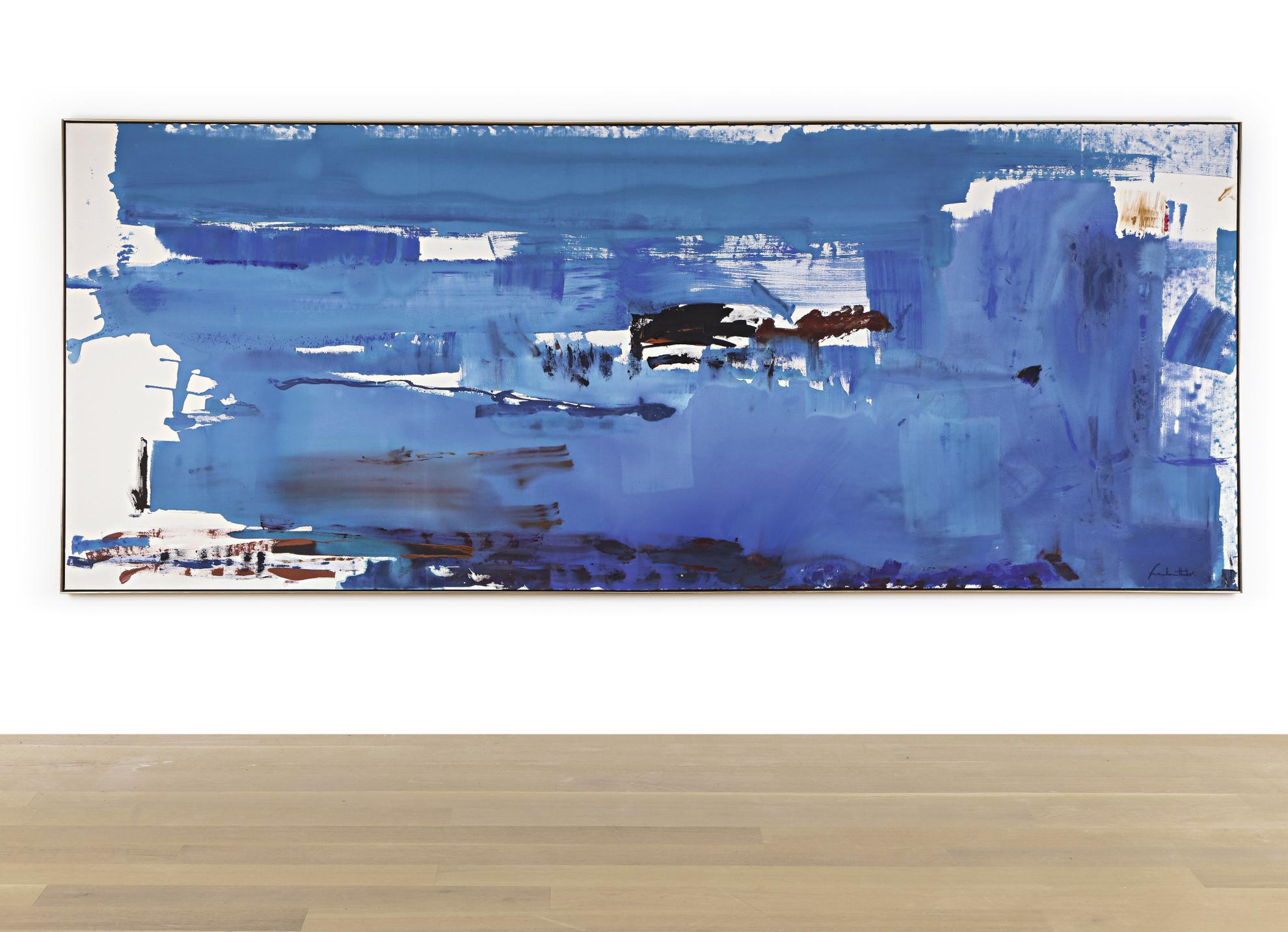 Helen Frankenthaler-Blue Reach-1978