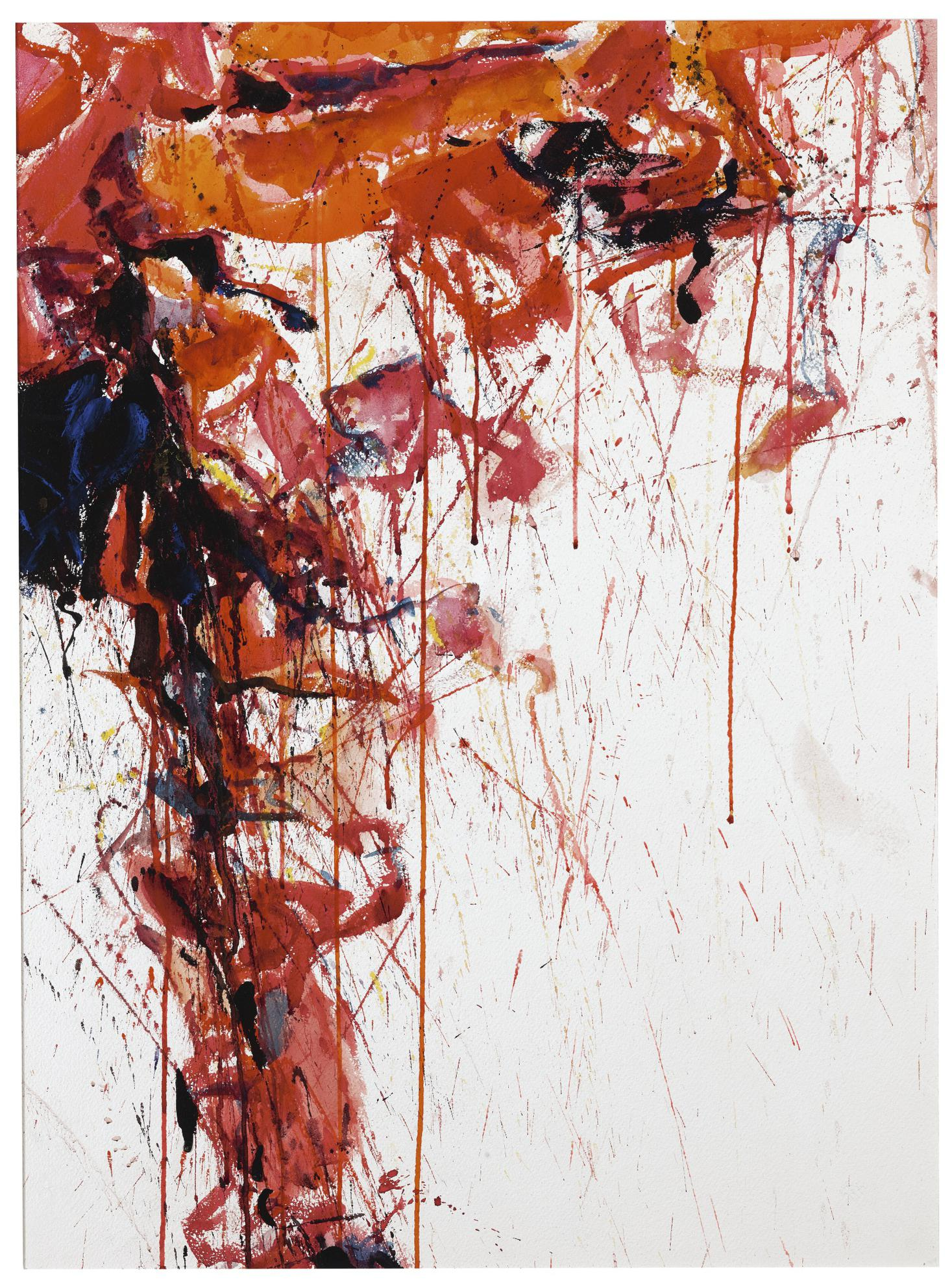 Sam Francis-Study For Red-1958
