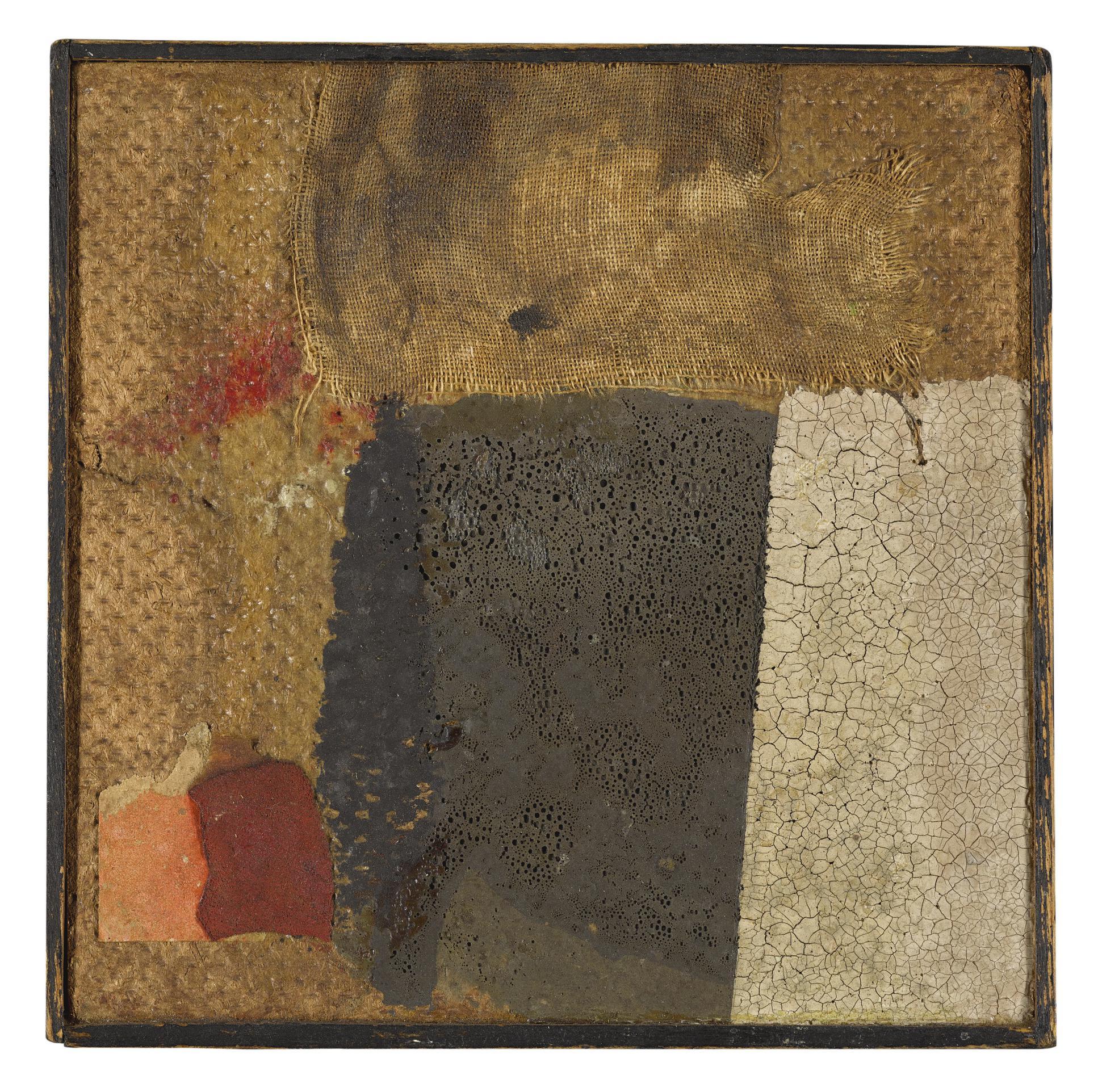 Alberto Burri-Untitled-1955