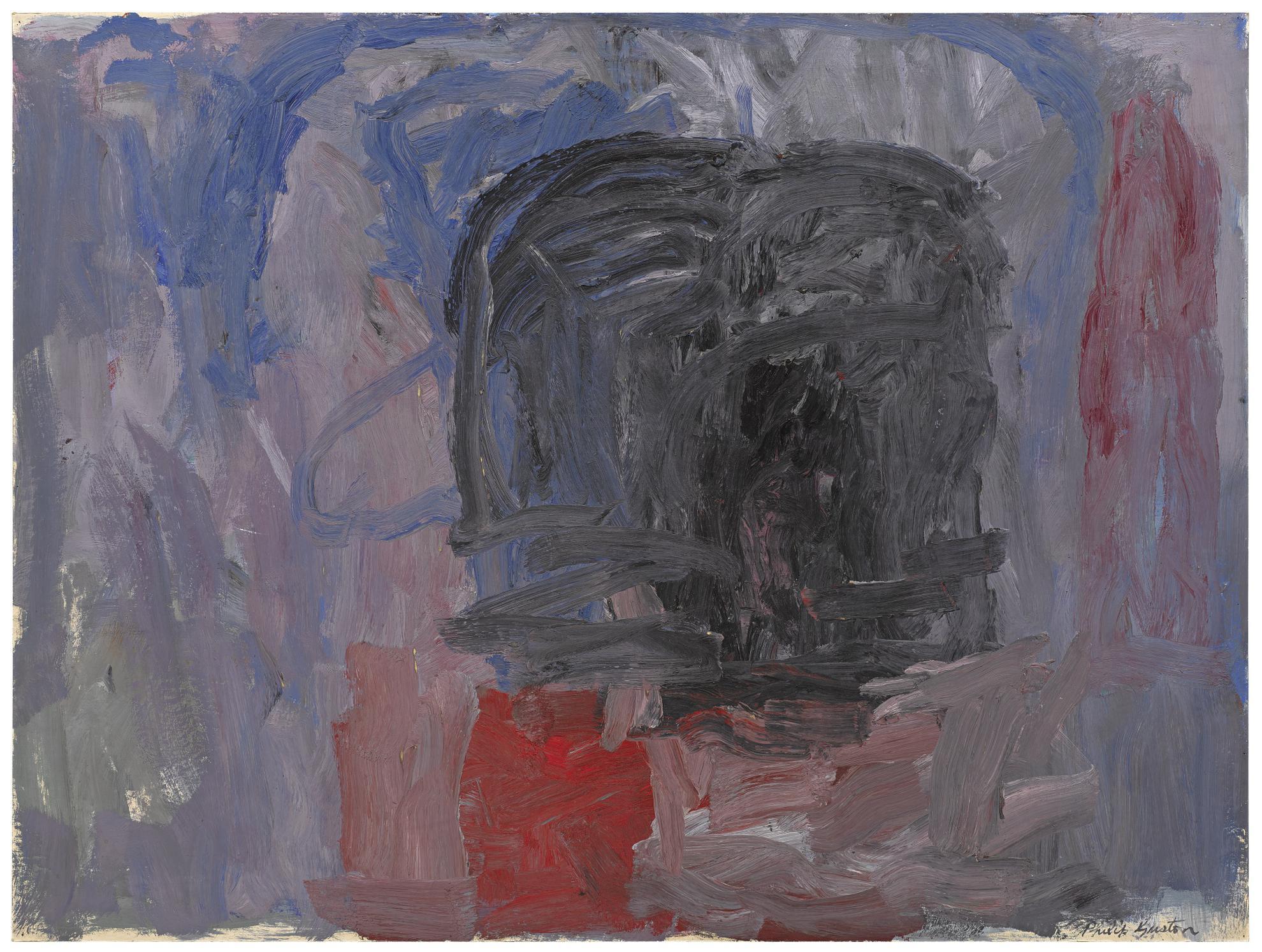 Philip Guston-Dark Form-1961