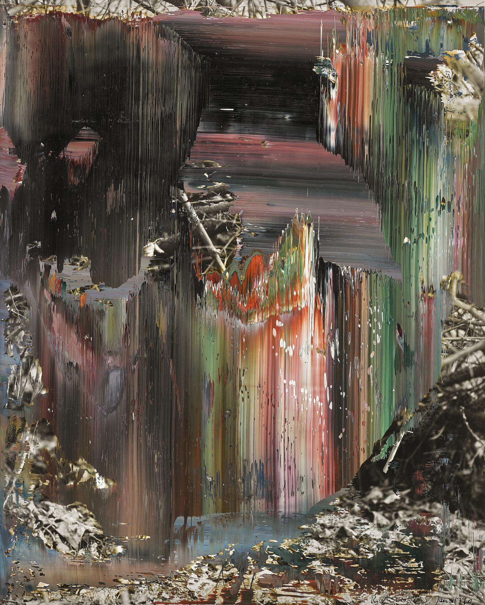 Gerhard Richter-Untitled (5 Jan 1990)-1990